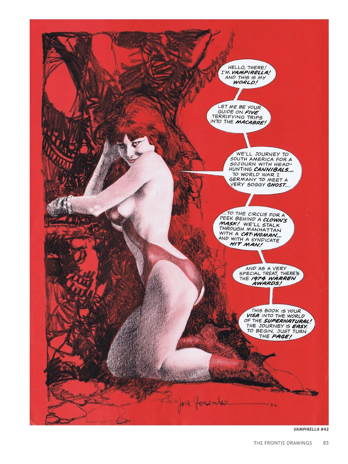Read online The Art of Jose Gonzalez comic -  Issue # TPB (Part 1) - 84