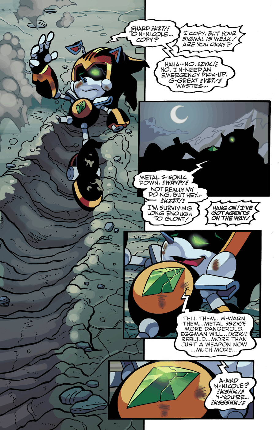 Read online Sonic Universe comic -  Issue #50 - 23