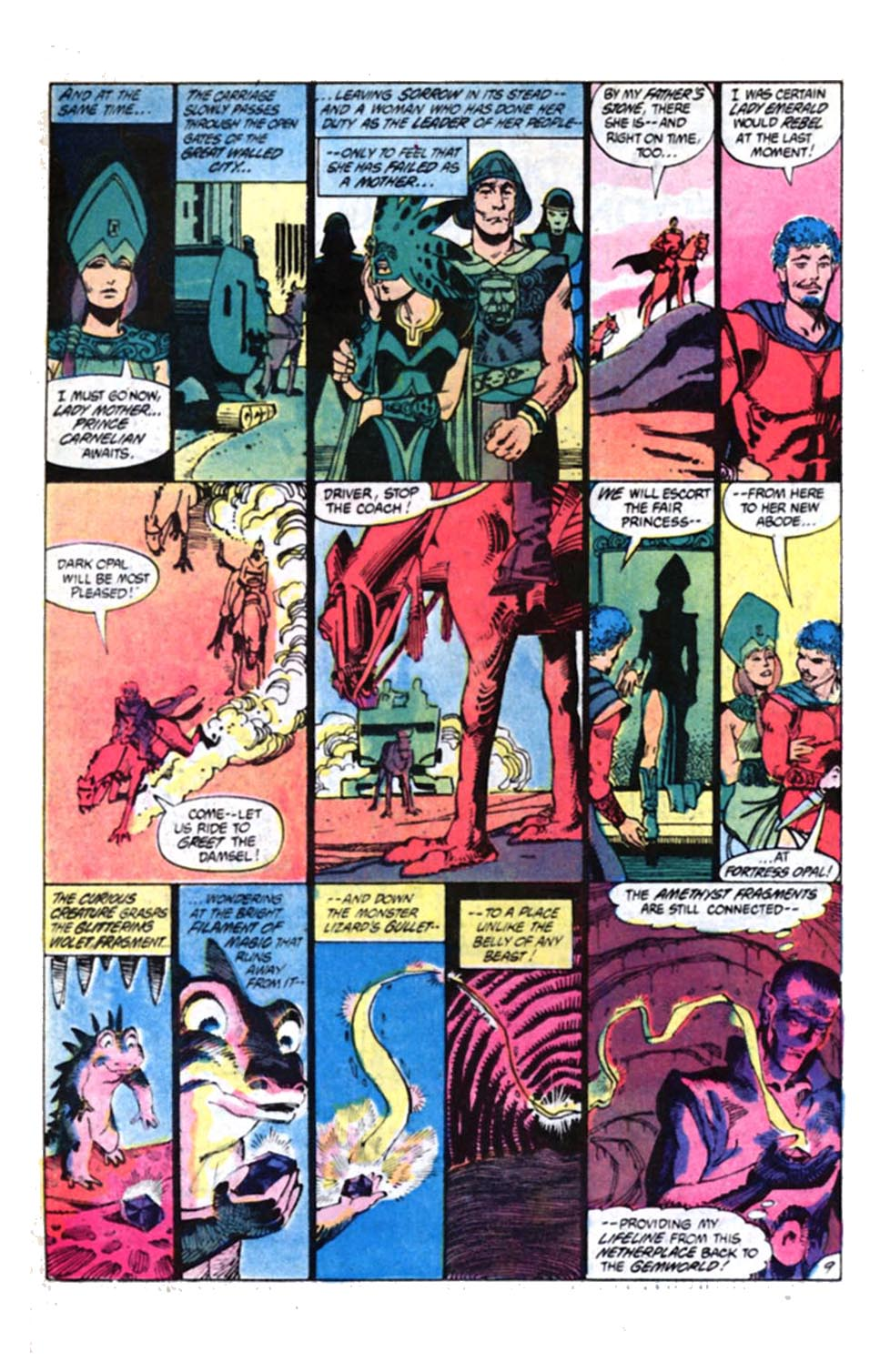 Read online Amethyst, Princess of Gemworld comic -  Issue #4 - 10