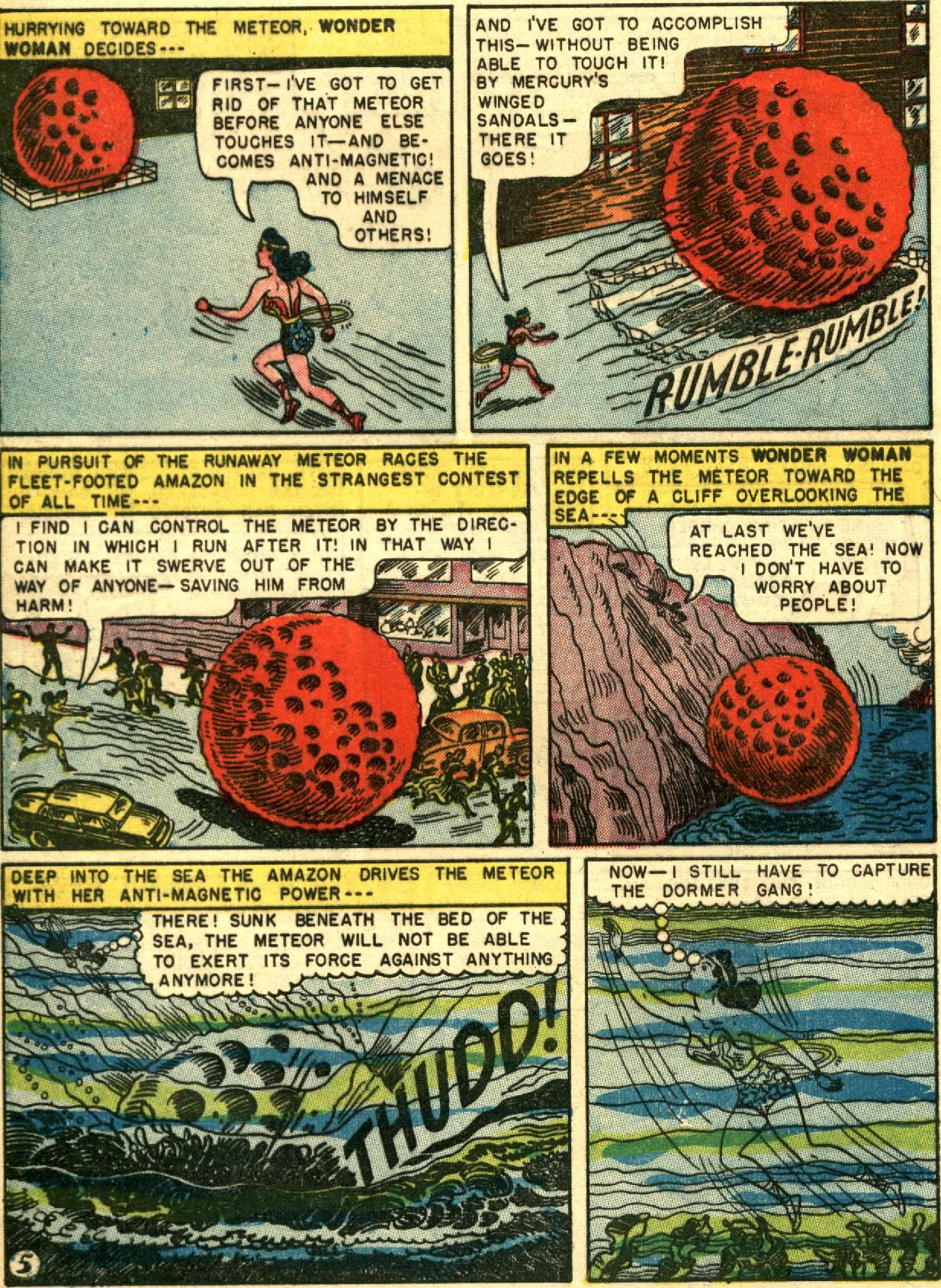Read online Wonder Woman (1942) comic -  Issue #67 - 31