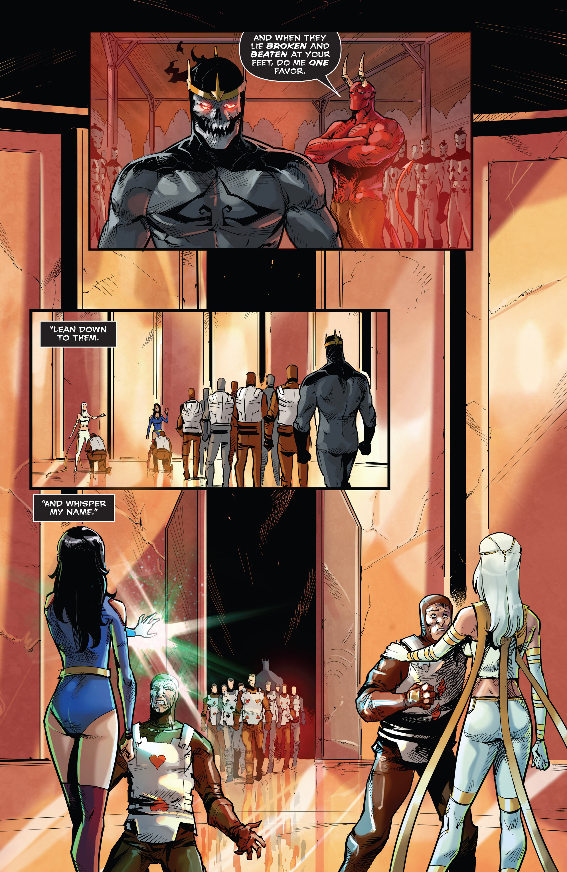 Read online Grimm Fairy Tales vs. Wonderland comic -  Issue #3 - 19