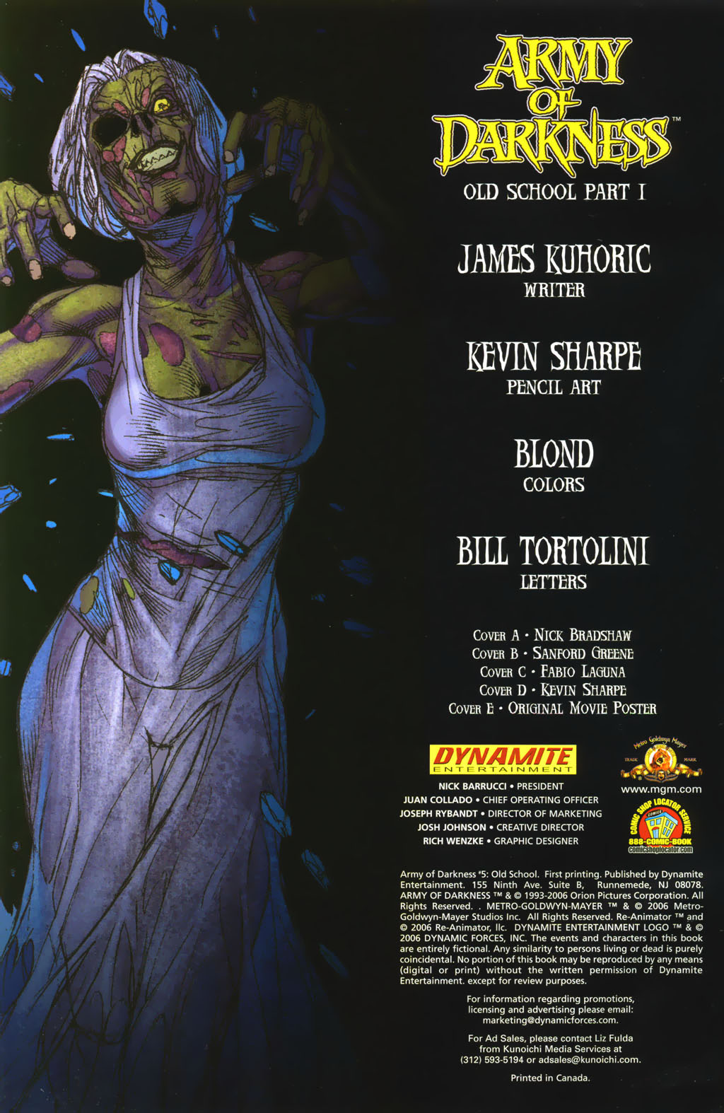 Army of Darkness (2006) Issue #5 #1 - English 7