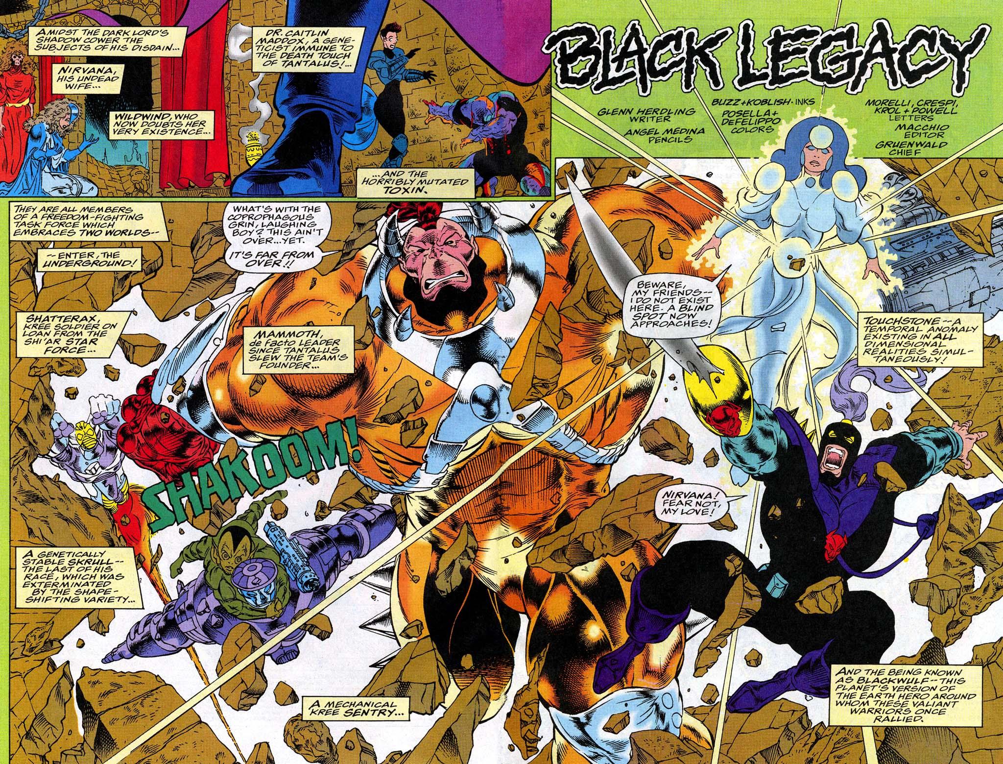 Read online Blackwulf comic -  Issue #10 - 3