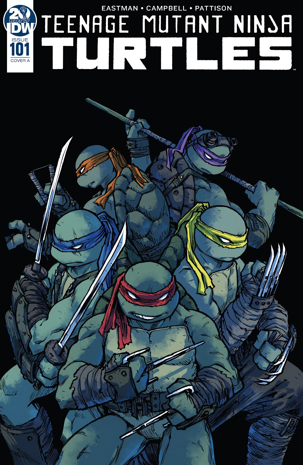 Read online Teenage Mutant Ninja Turtles (2011) comic -  Issue #101 - 1
