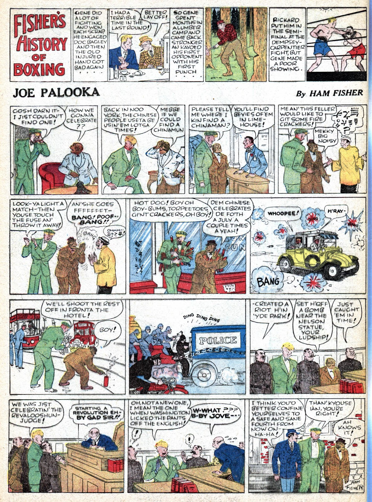 Read online Famous Funnies comic -  Issue #36 - 66
