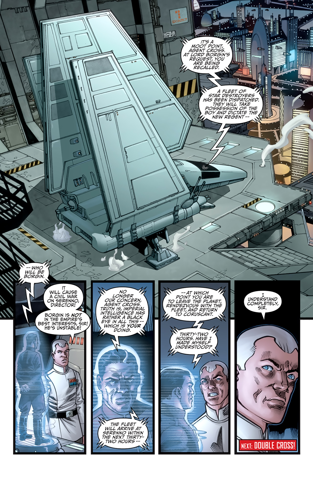 Read online Star Wars: Agent Of The Empire - Hard Targets comic -  Issue #3 - 24