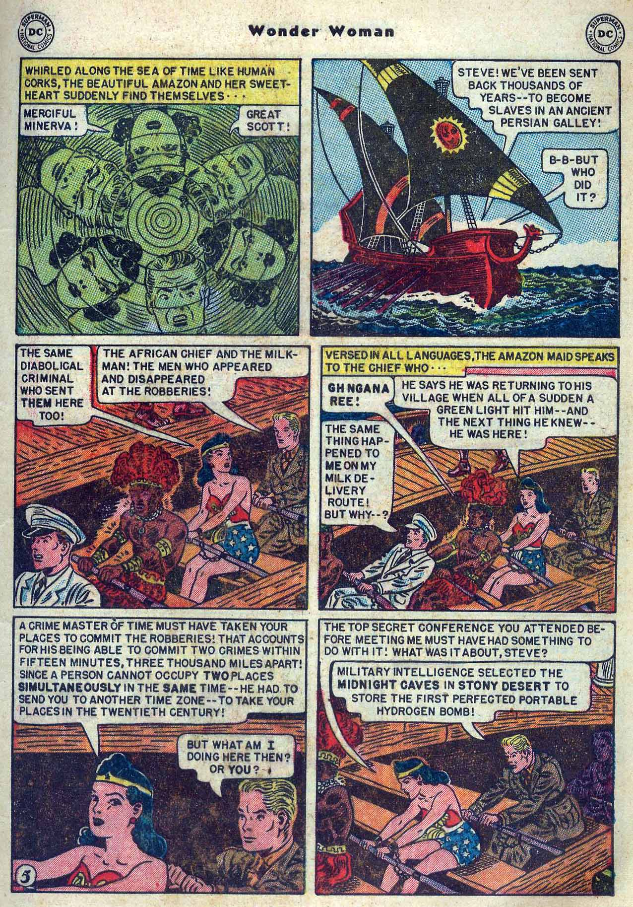 Read online Wonder Woman (1942) comic -  Issue #53 - 7