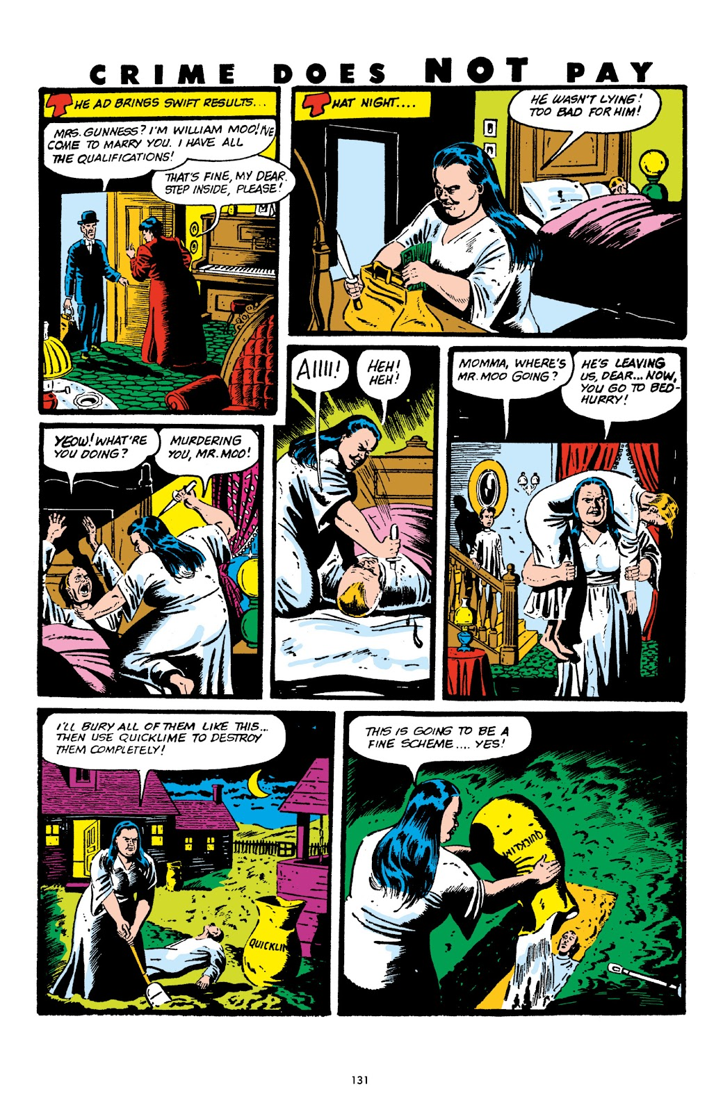 Read online Crime Does Not Pay Archives comic -  Issue # TPB 6 (Part 2) - 33