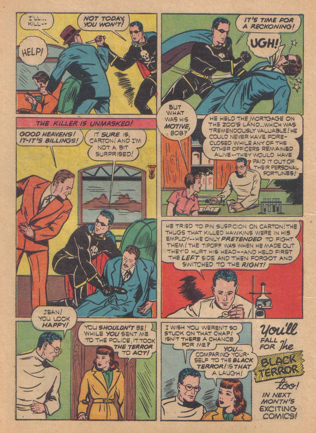 Exciting Comics (1940) issue 13 - Page 16