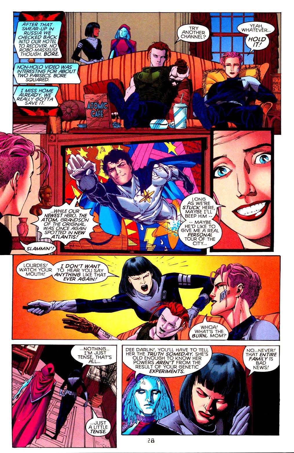 Read online Tangent Comics/ Doom Patrol comic -  Issue # Full - 29