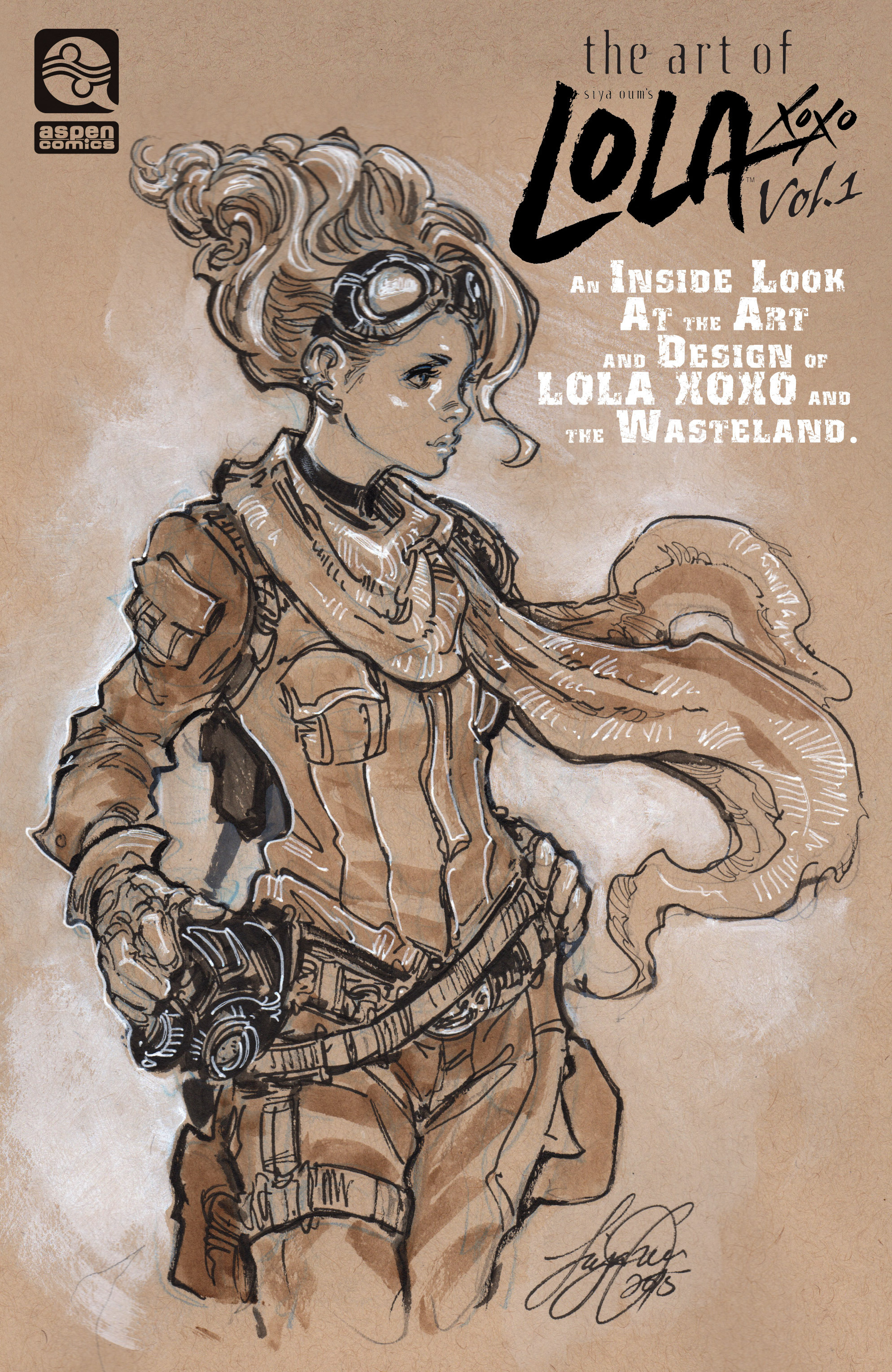 The Art of Lola XOXO issue Full - Page 1