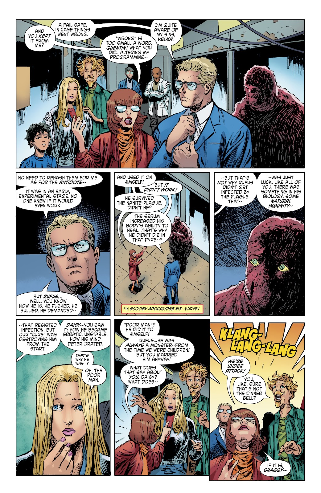 Read online Scooby Apocalypse comic -  Issue #34 - 10