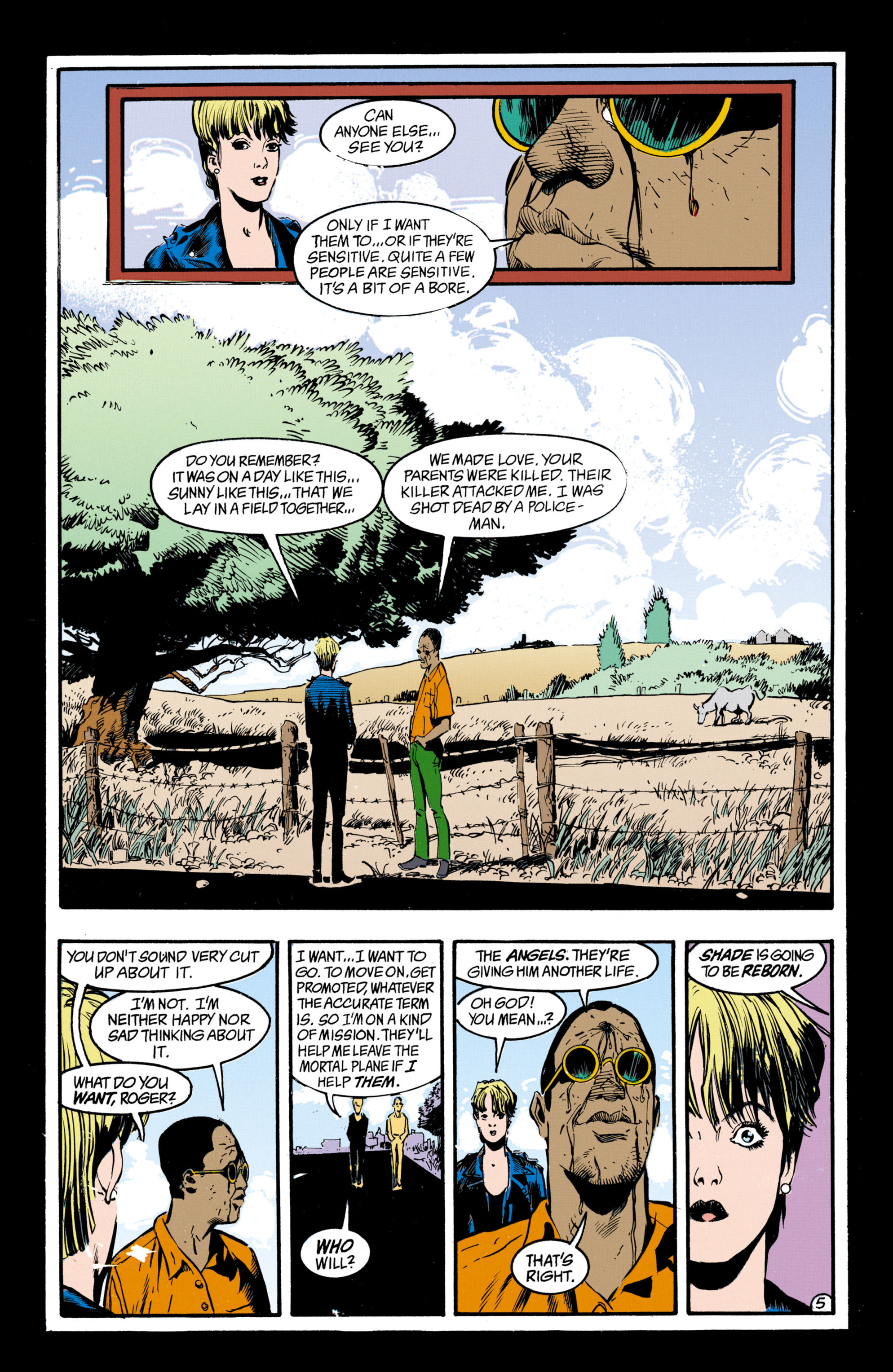 Read online Shade, the Changing Man comic -  Issue #33 - 6