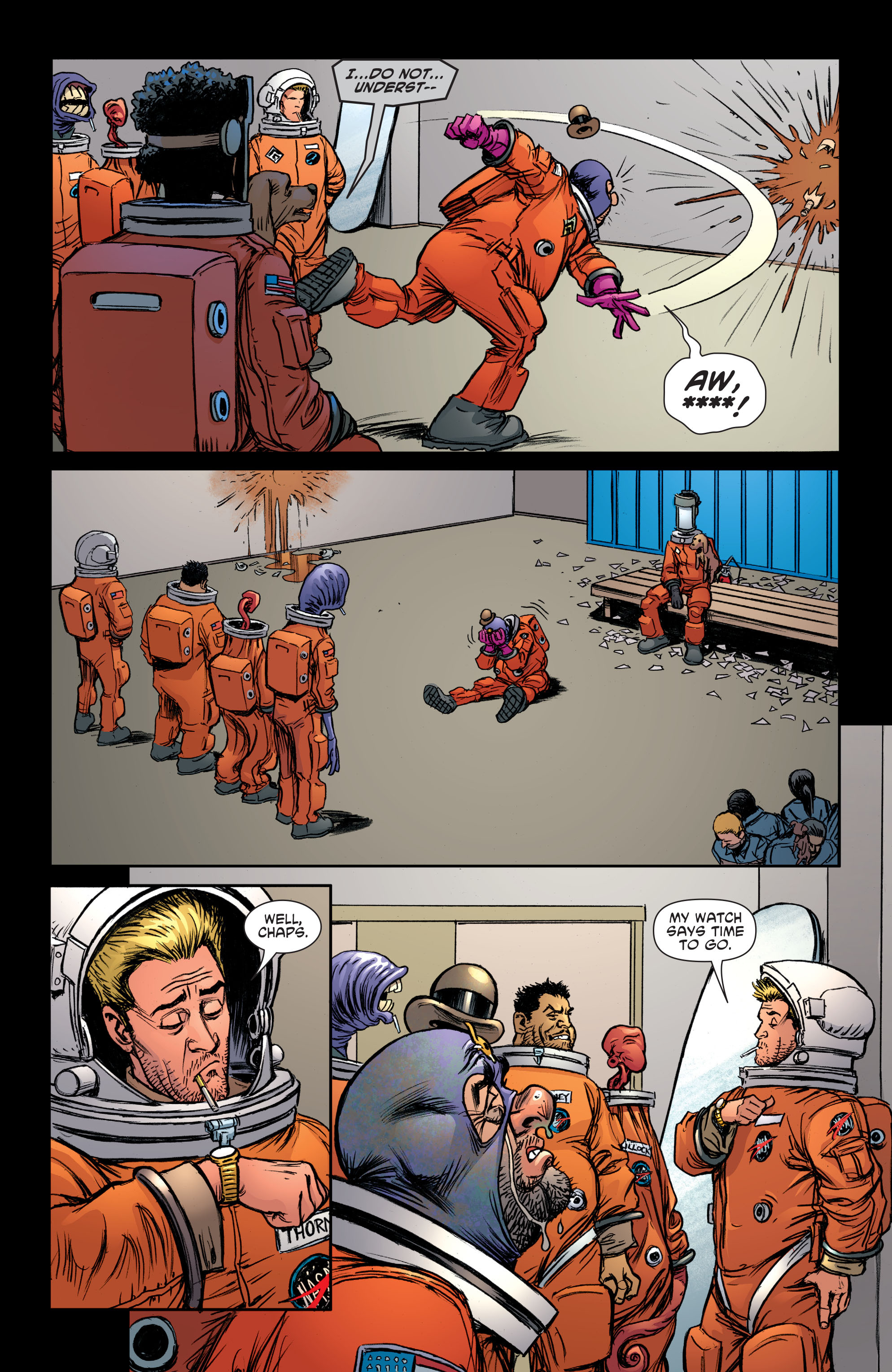 Read online Sixpack and Dogwelder: Hard Travelin' Heroz comic -  Issue #5 - 16