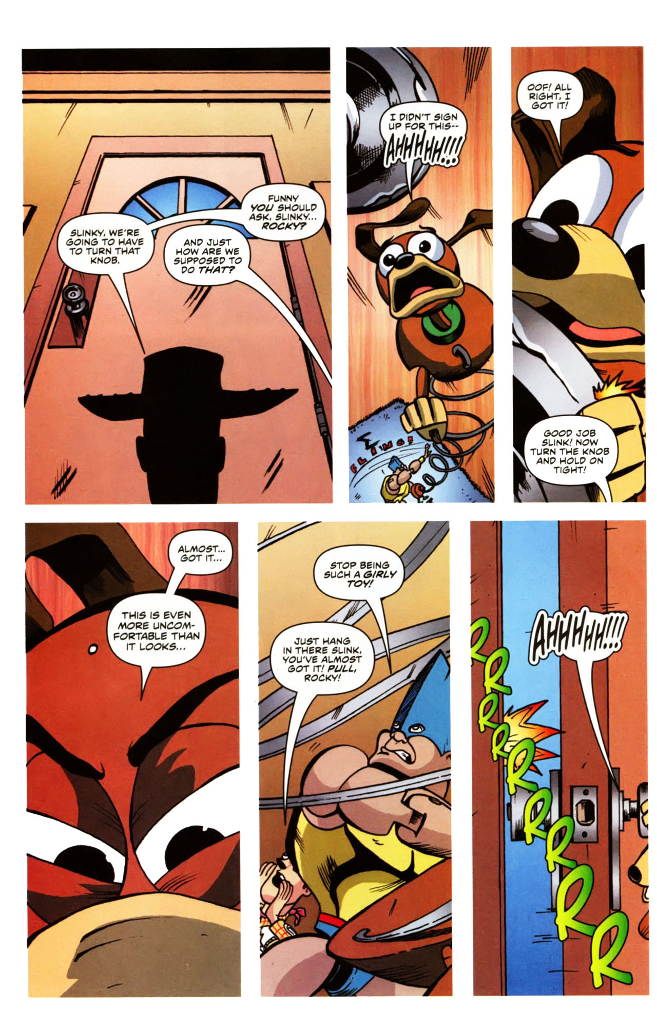 Read online Toy Story (2009) comic -  Issue #1 - 12