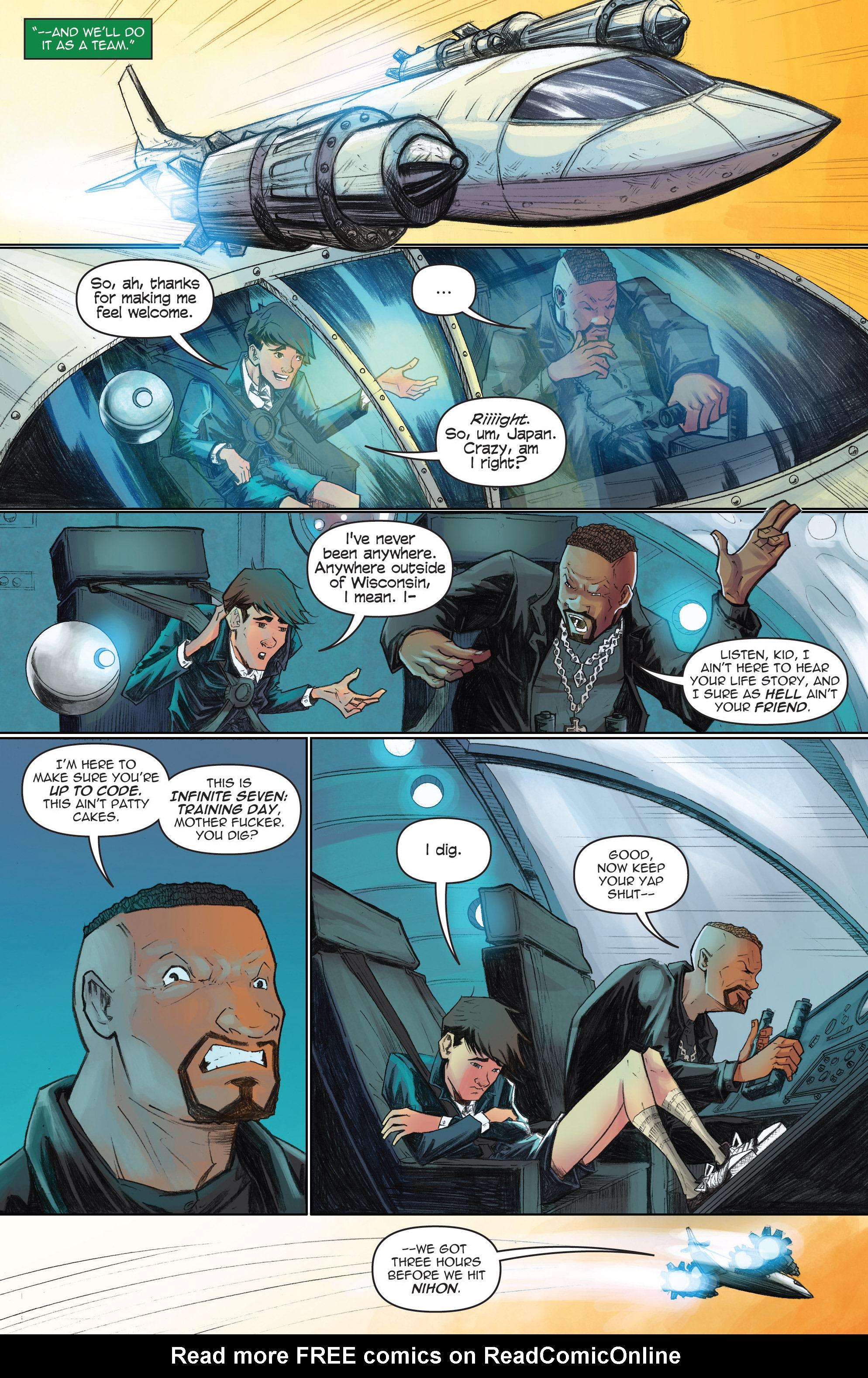 Read online Infinite Seven comic -  Issue #3 - 12