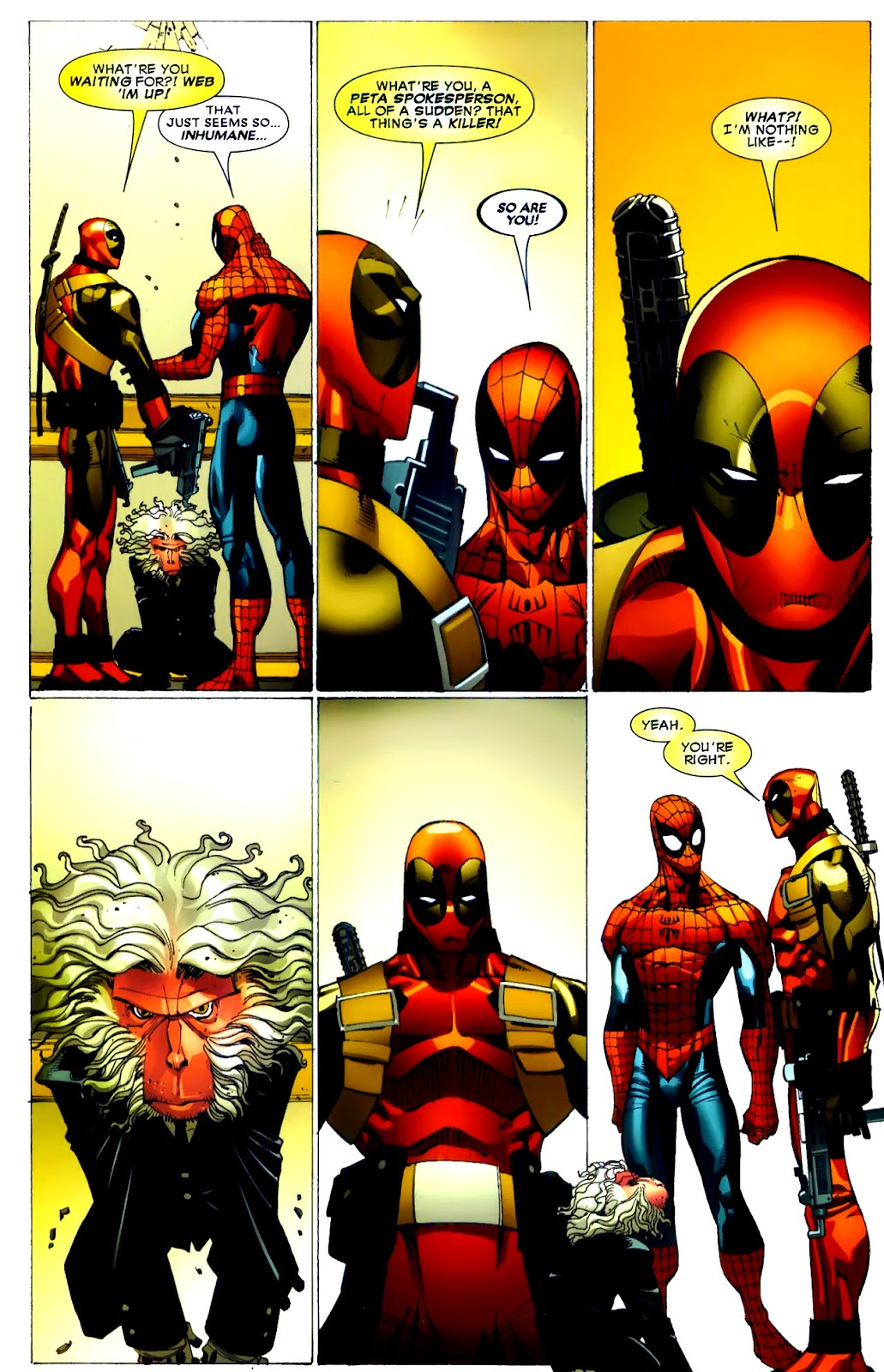 Read online Deadpool (2008) comic -  Issue #21 - 19