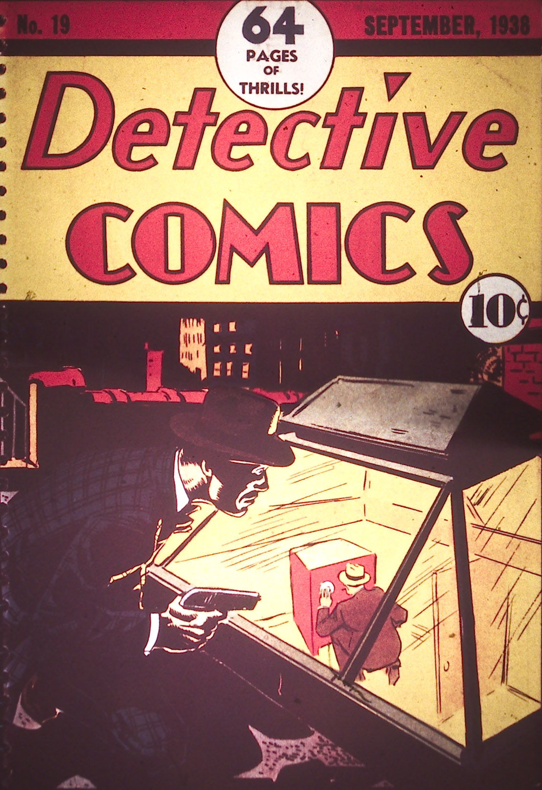 Detective Comics (1937) 19 Page 0