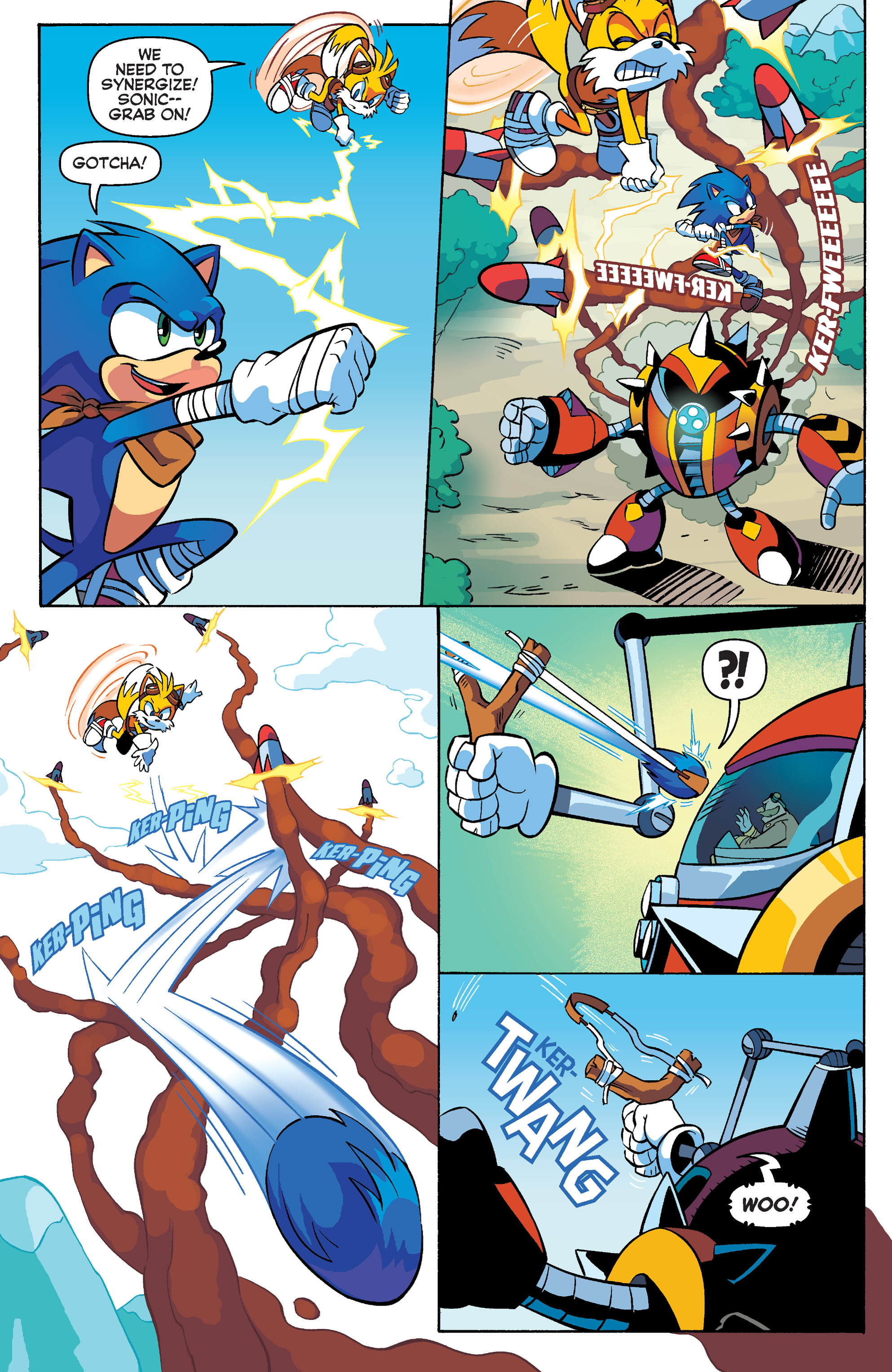 Read online Sonic Boom comic -  Issue #4 - 13