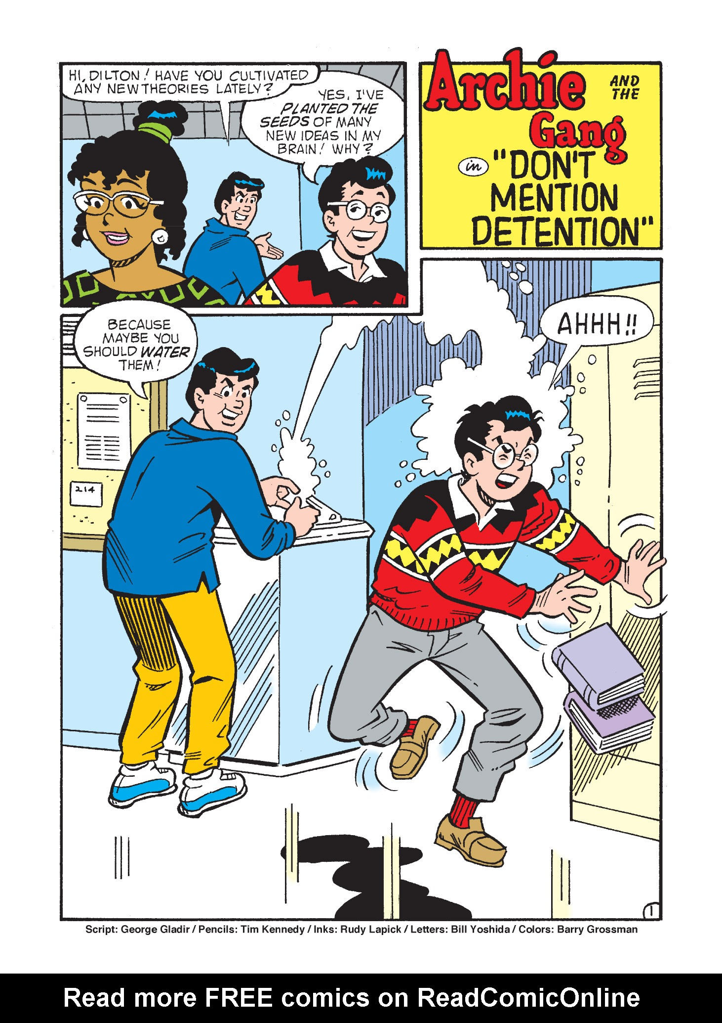 Read online Archie's Funhouse Double Digest comic -  Issue #3 - 115