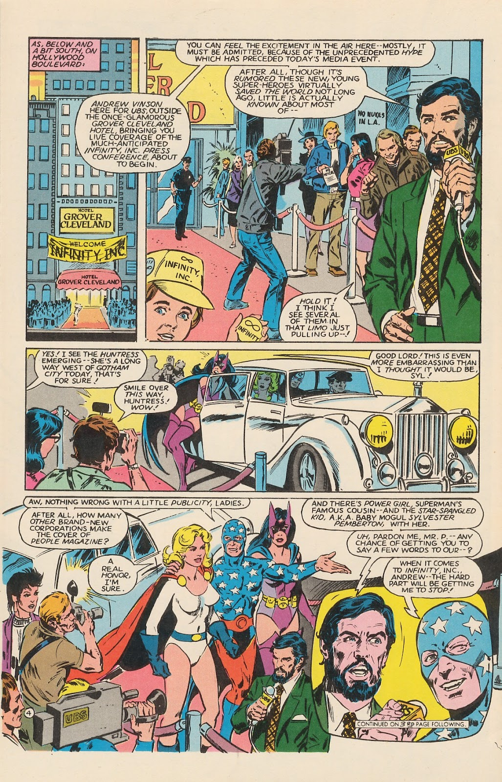 Infinity Inc. (1984) issue 12 - Page 6