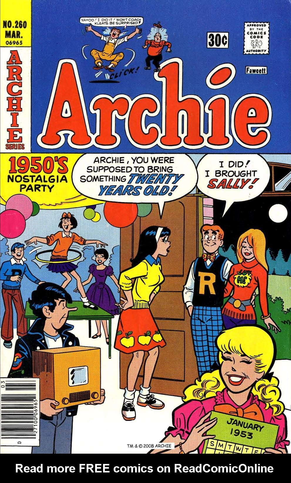 Read online Archie (1960) comic -  Issue #260 - 1