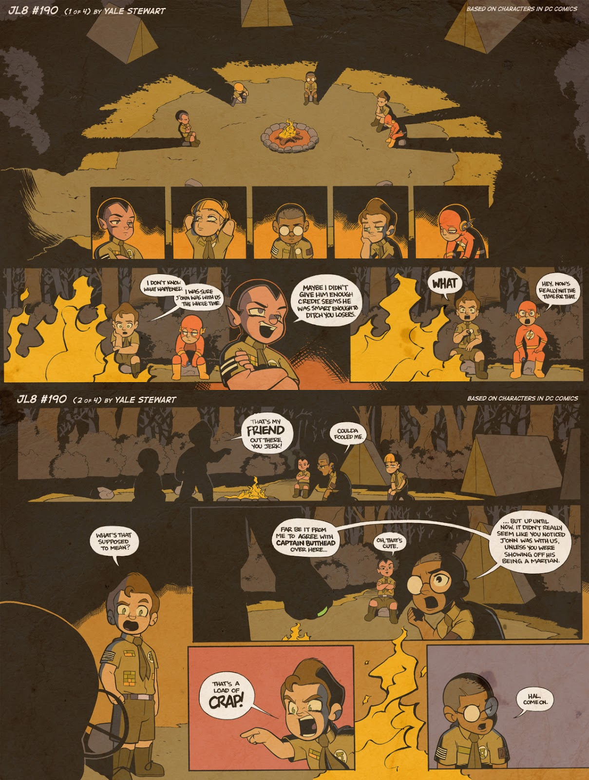 Read online JL8 – The Complete Collection comic -  Issue # TPB (Part 2) - 5