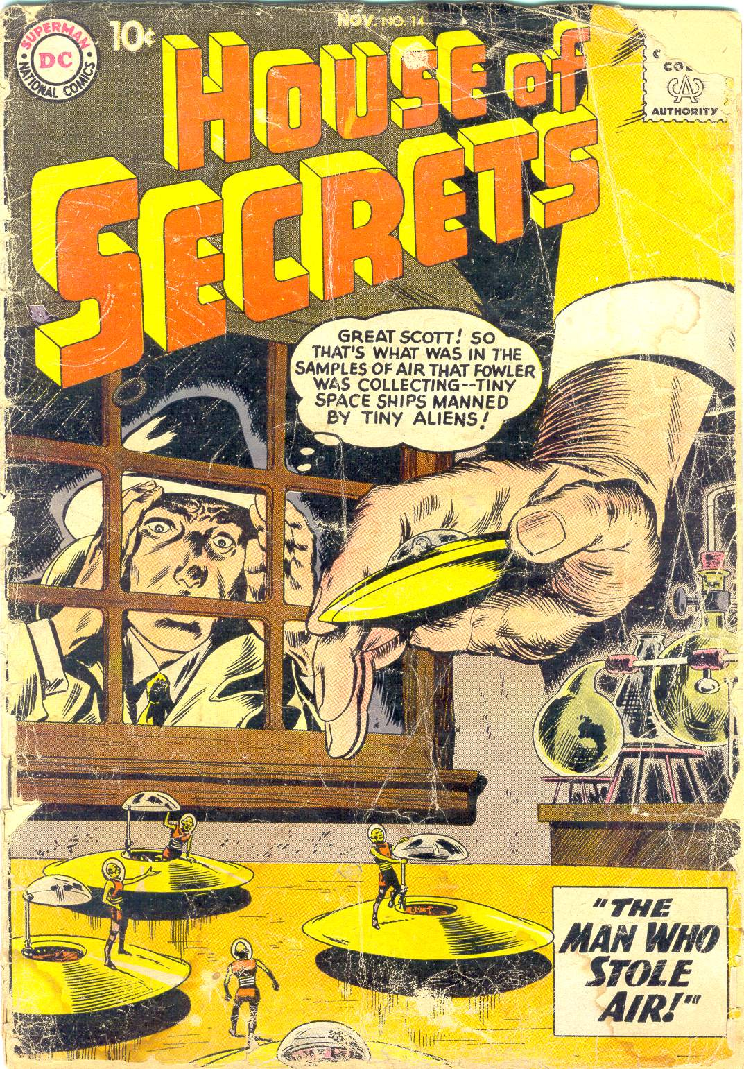 House of Secrets (1956) issue 14 - Page 1