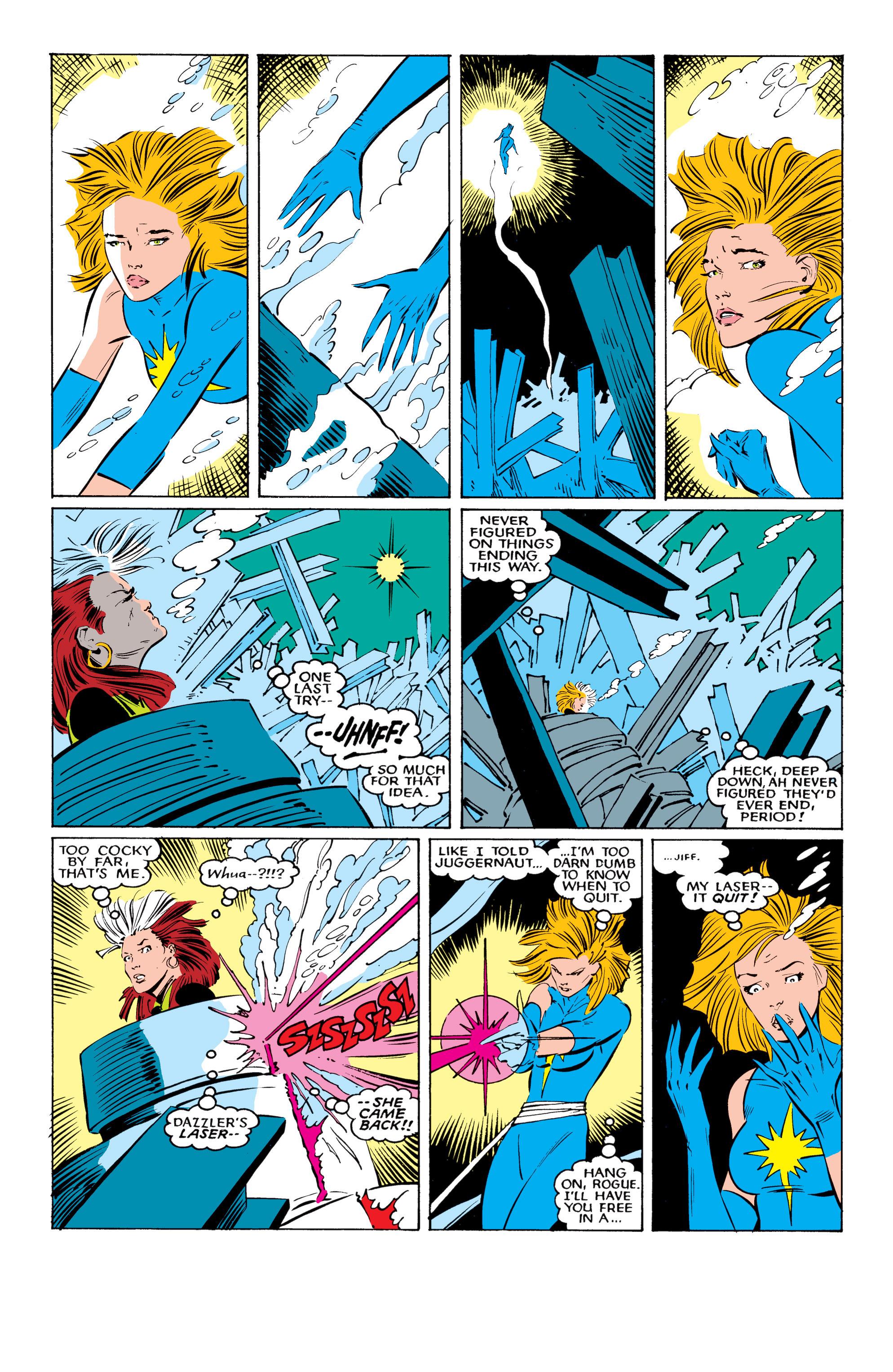 Read online Uncanny X-Men (1963) comic -  Issue #221 - 23