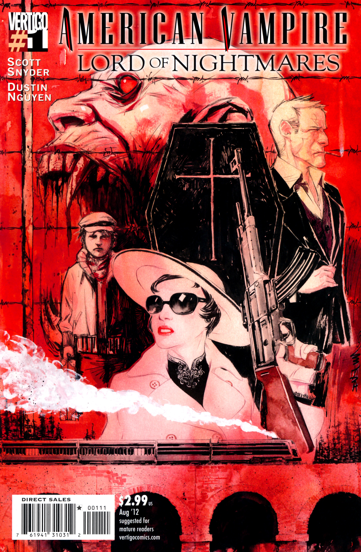 Read online American Vampire: Lord of Nightmares comic -  Issue #1 - 1