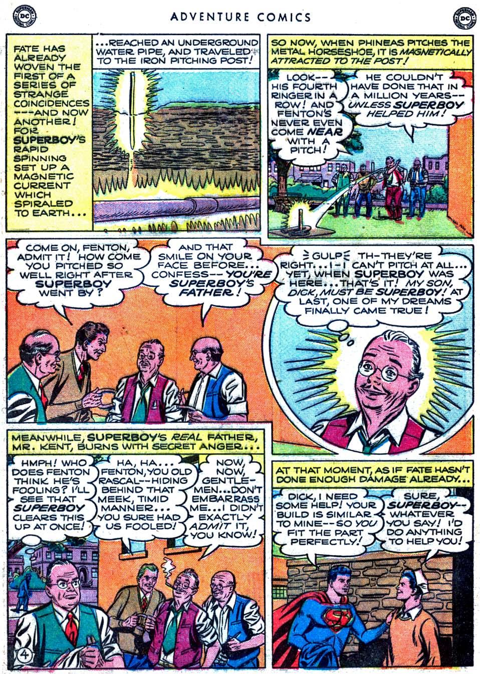 Read online Adventure Comics (1938) comic -  Issue #163 - 6