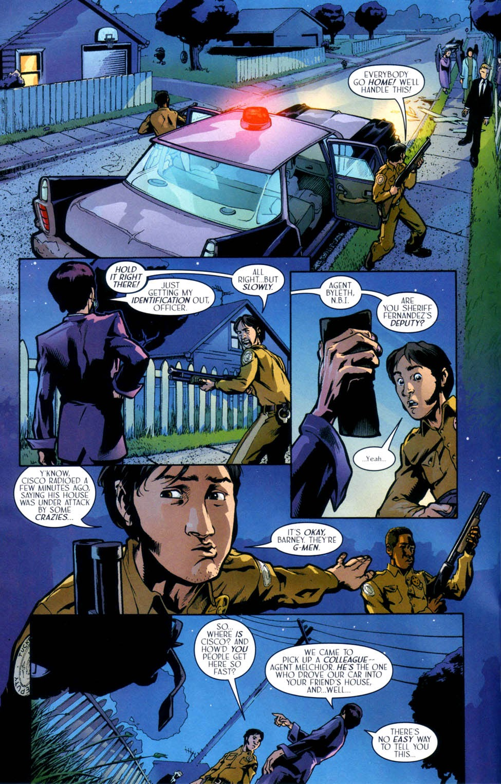 Read online Route 666 comic -  Issue #9 - 6
