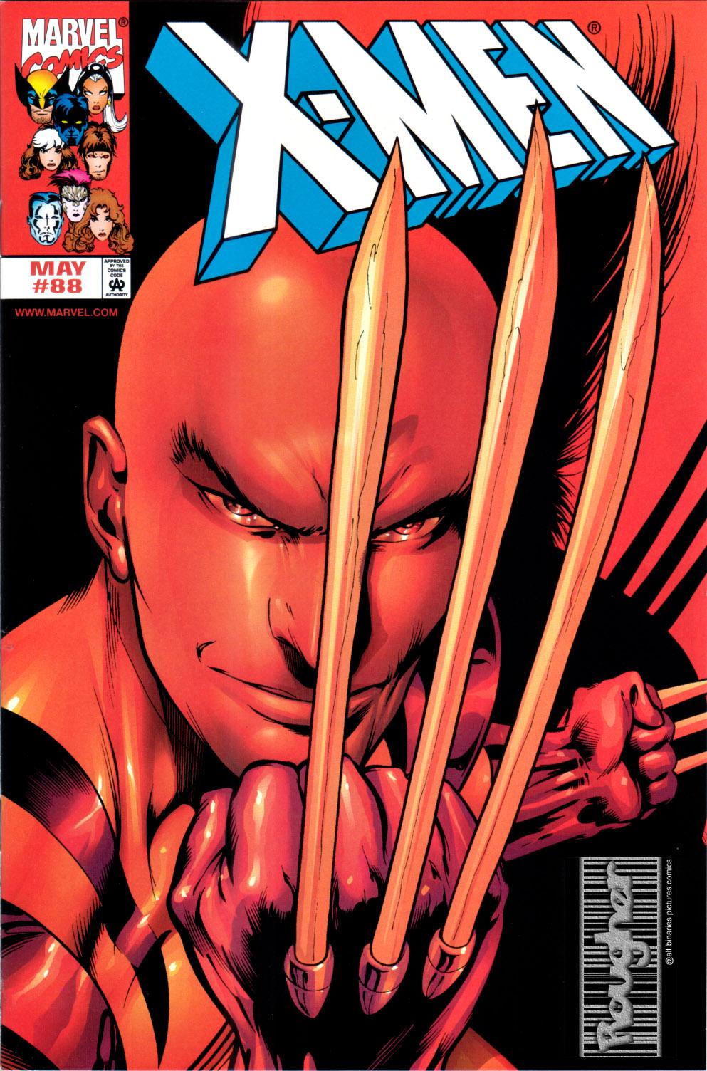 X-Men (1991) 88 Page 0