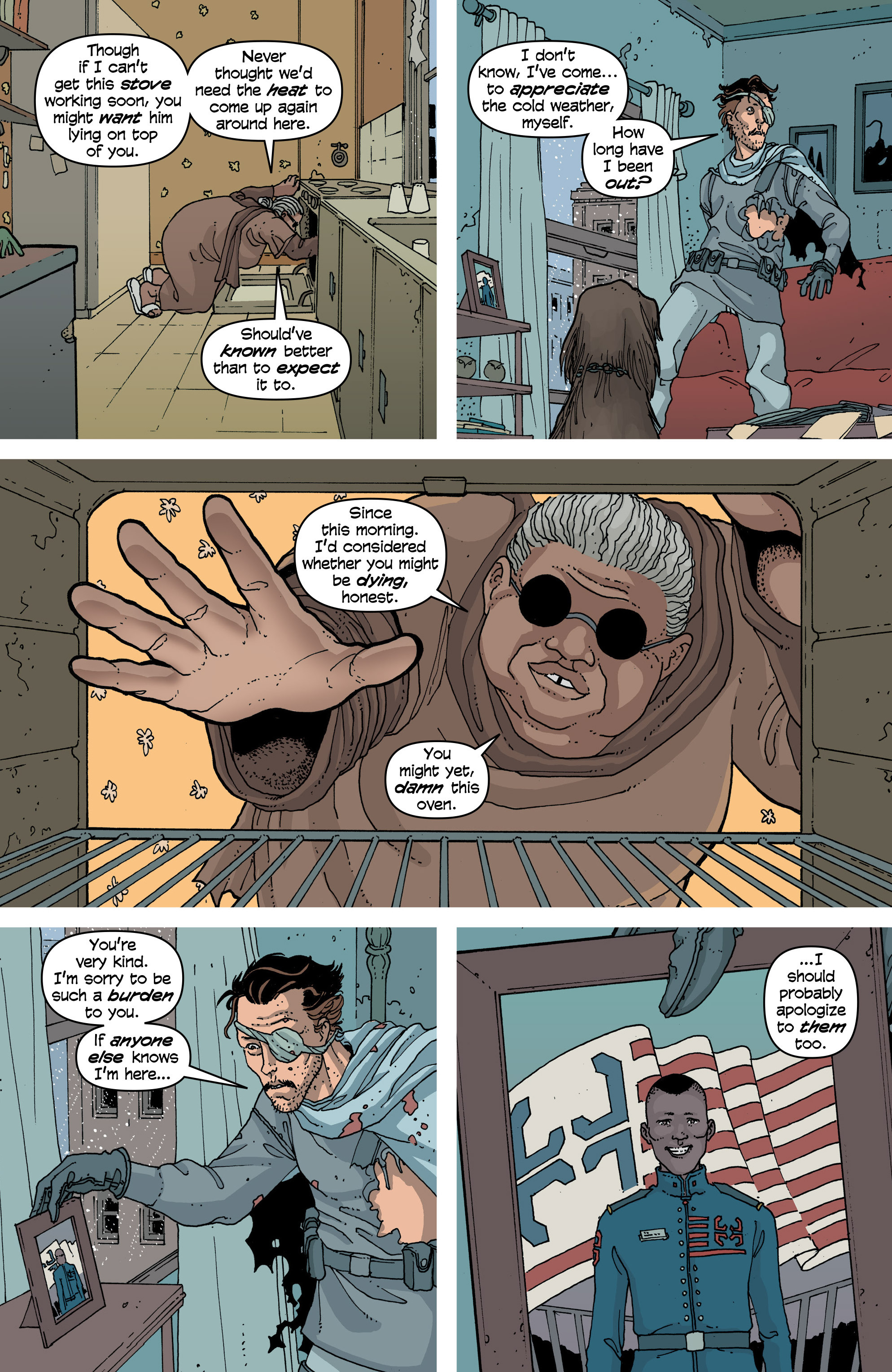 Read online Snowfall comic -  Issue #6 - 14