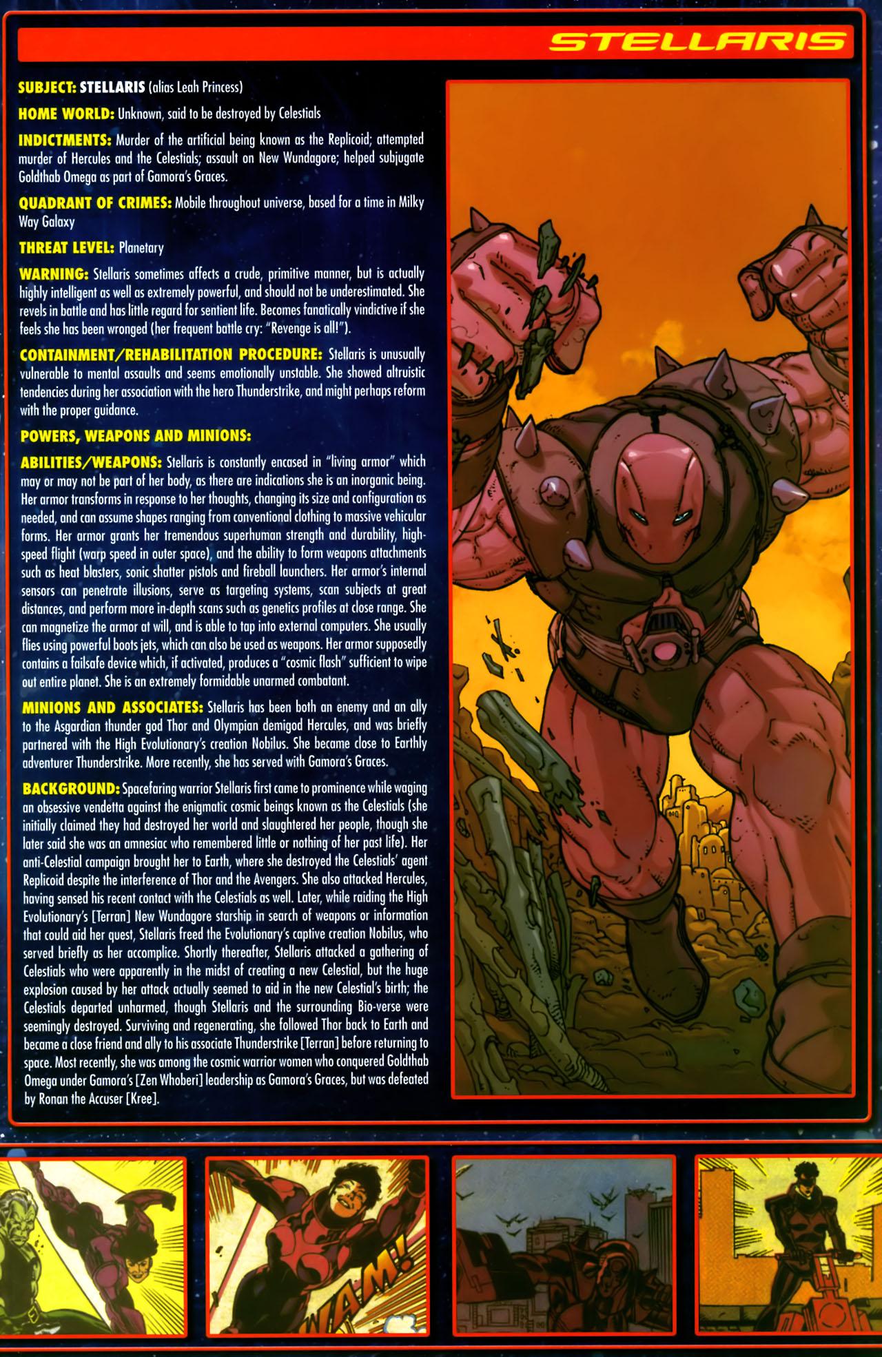 Read online Annihilation:  The  Nova Corps Files comic -  Issue #Annihilation:  The  Nova Corps Files Full - 40