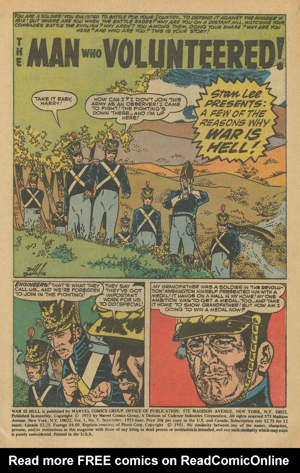 War Is Hell (1973) issue 5 - Page 3