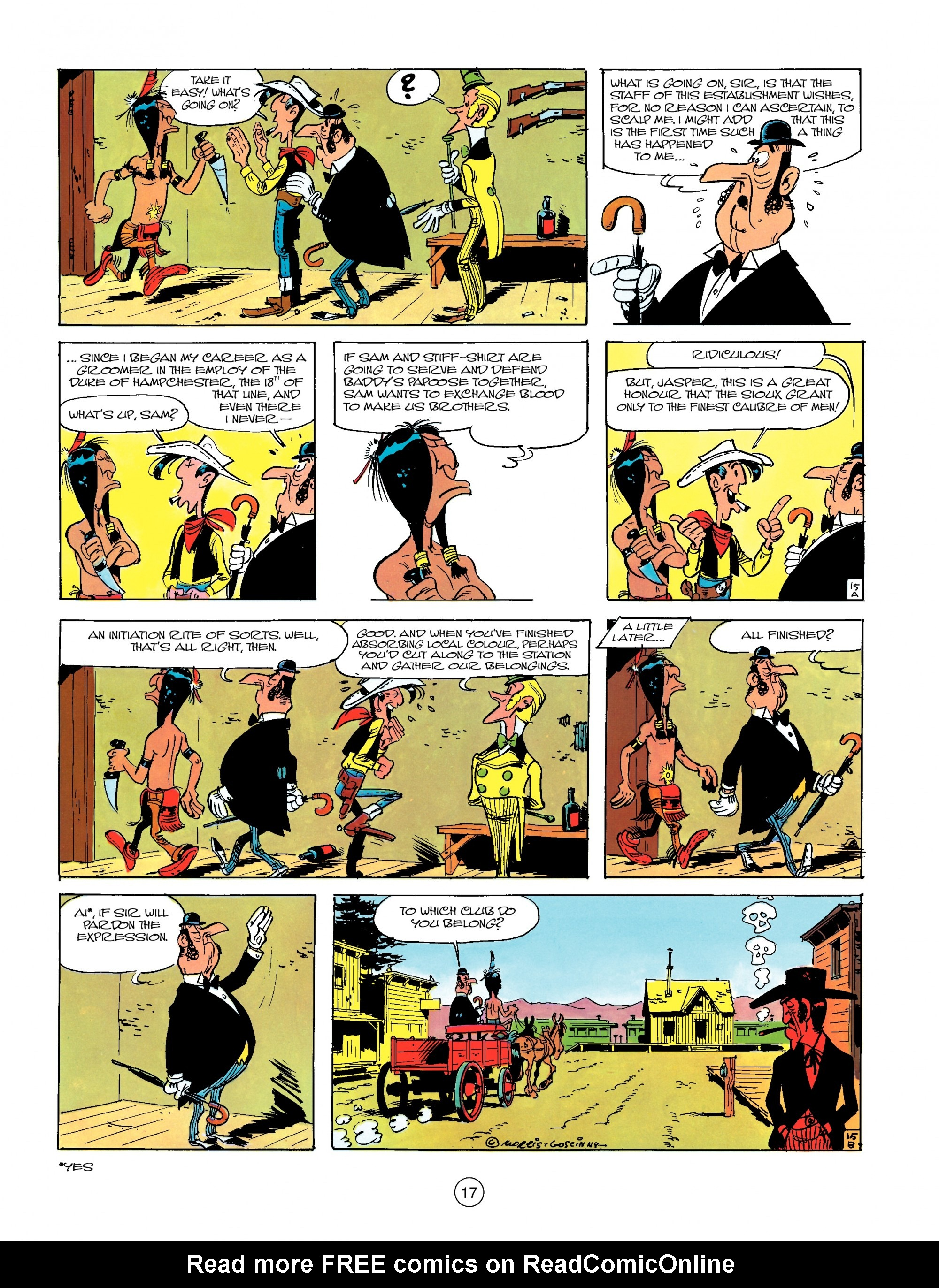 Read online A Lucky Luke Adventure comic -  Issue #13 - 17