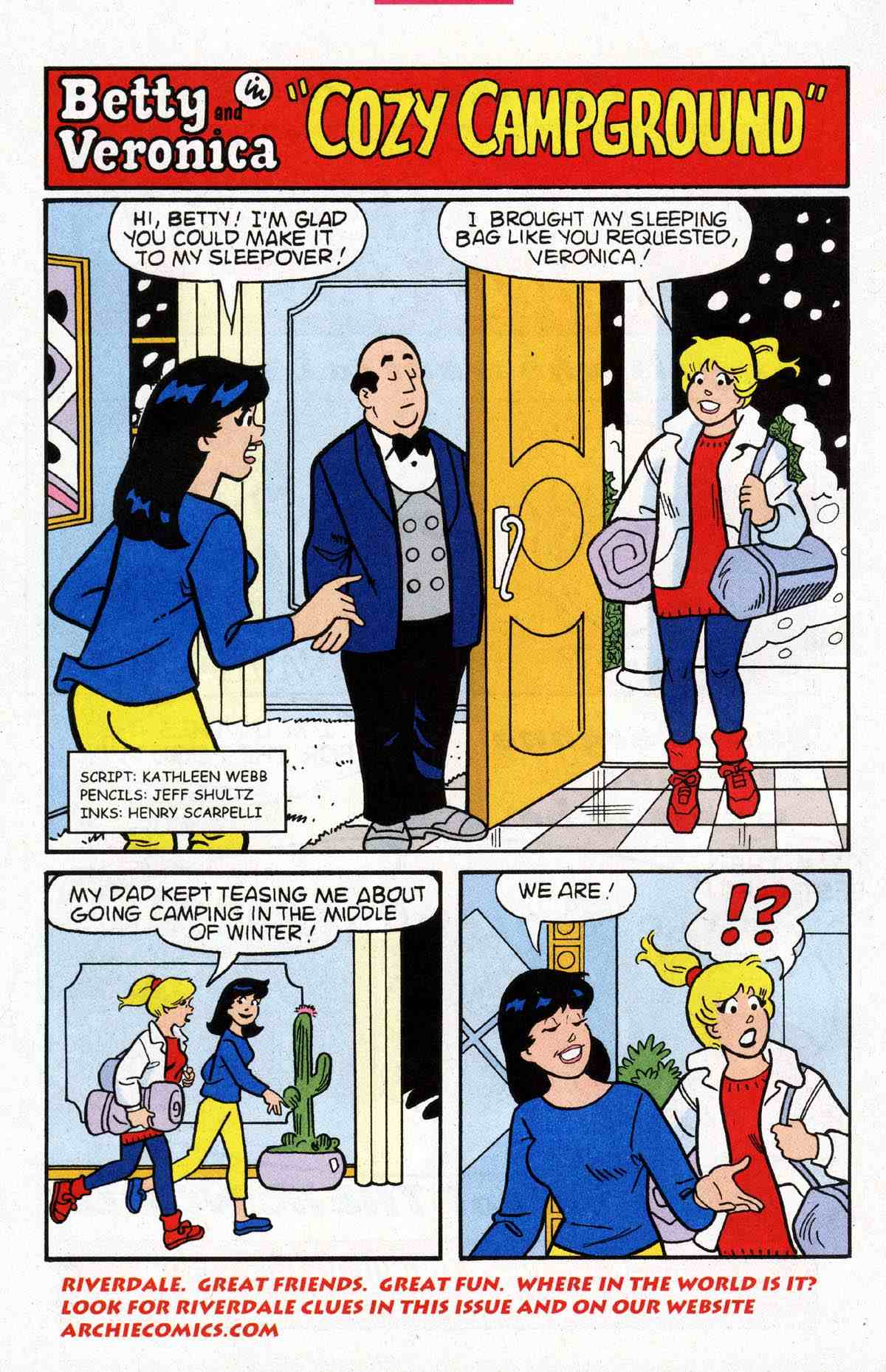 Read online Archie's Girls Betty and Veronica comic -  Issue #183 - 10