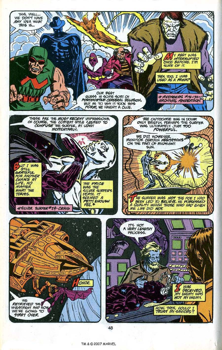 Read online Silver Surfer (1987) comic -  Issue # _Annual 4 - 50