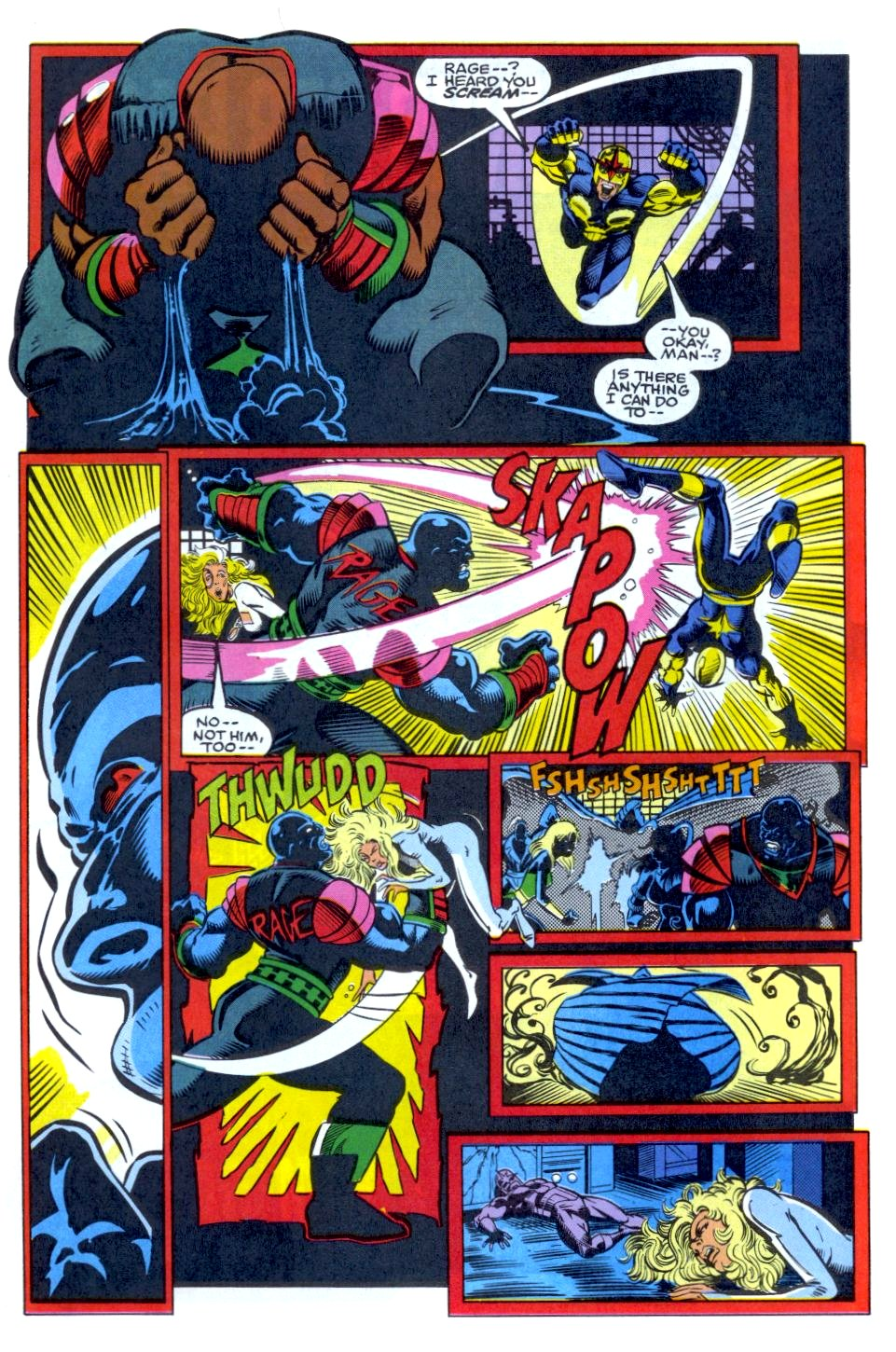 The New Warriors Issue #34 #38 - English 18