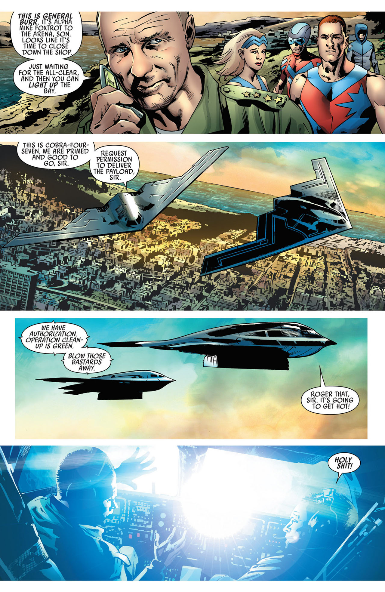 Read online America's Got Powers comic -  Issue #5 - 26