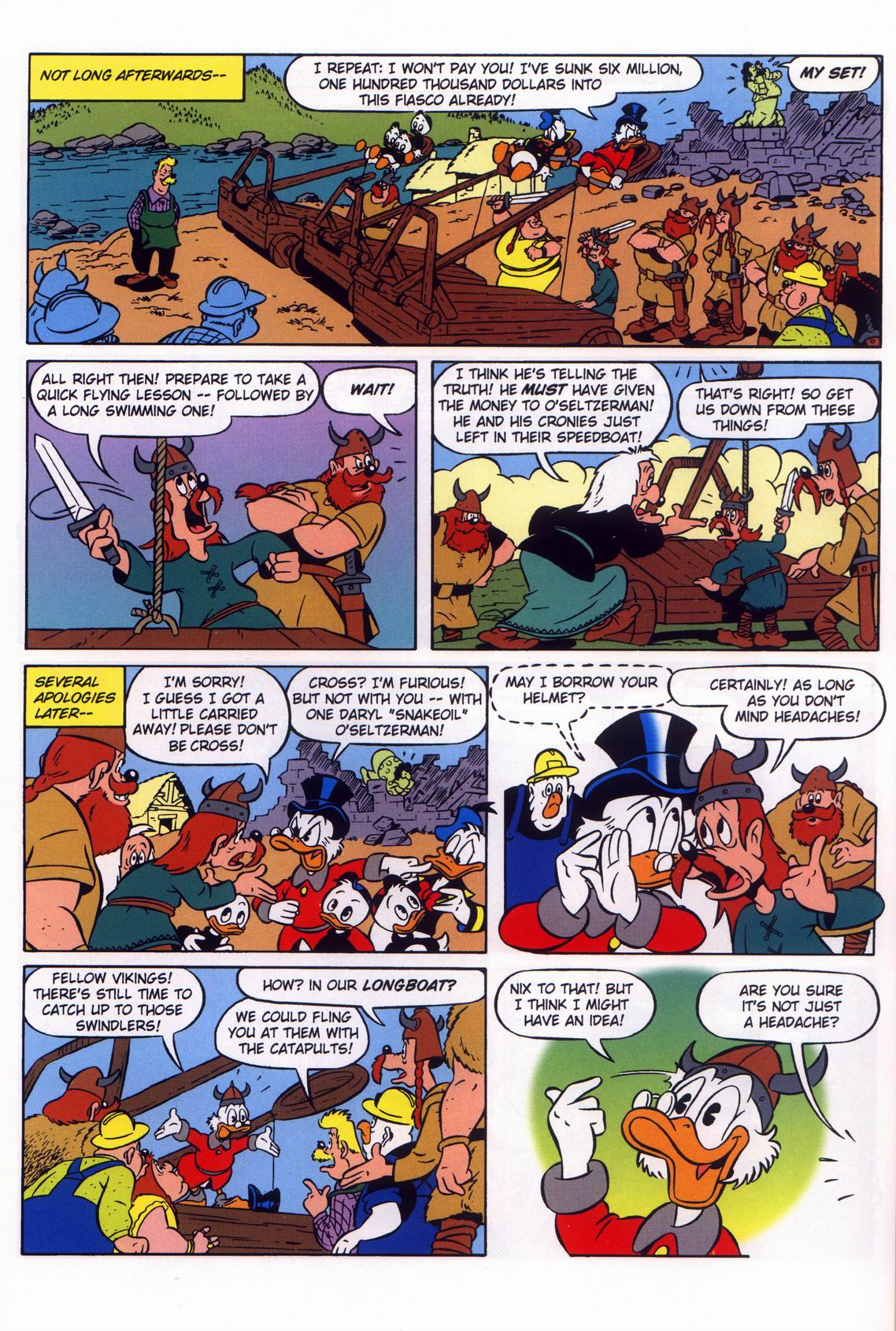Read online Uncle Scrooge (1953) comic -  Issue #316 - 48