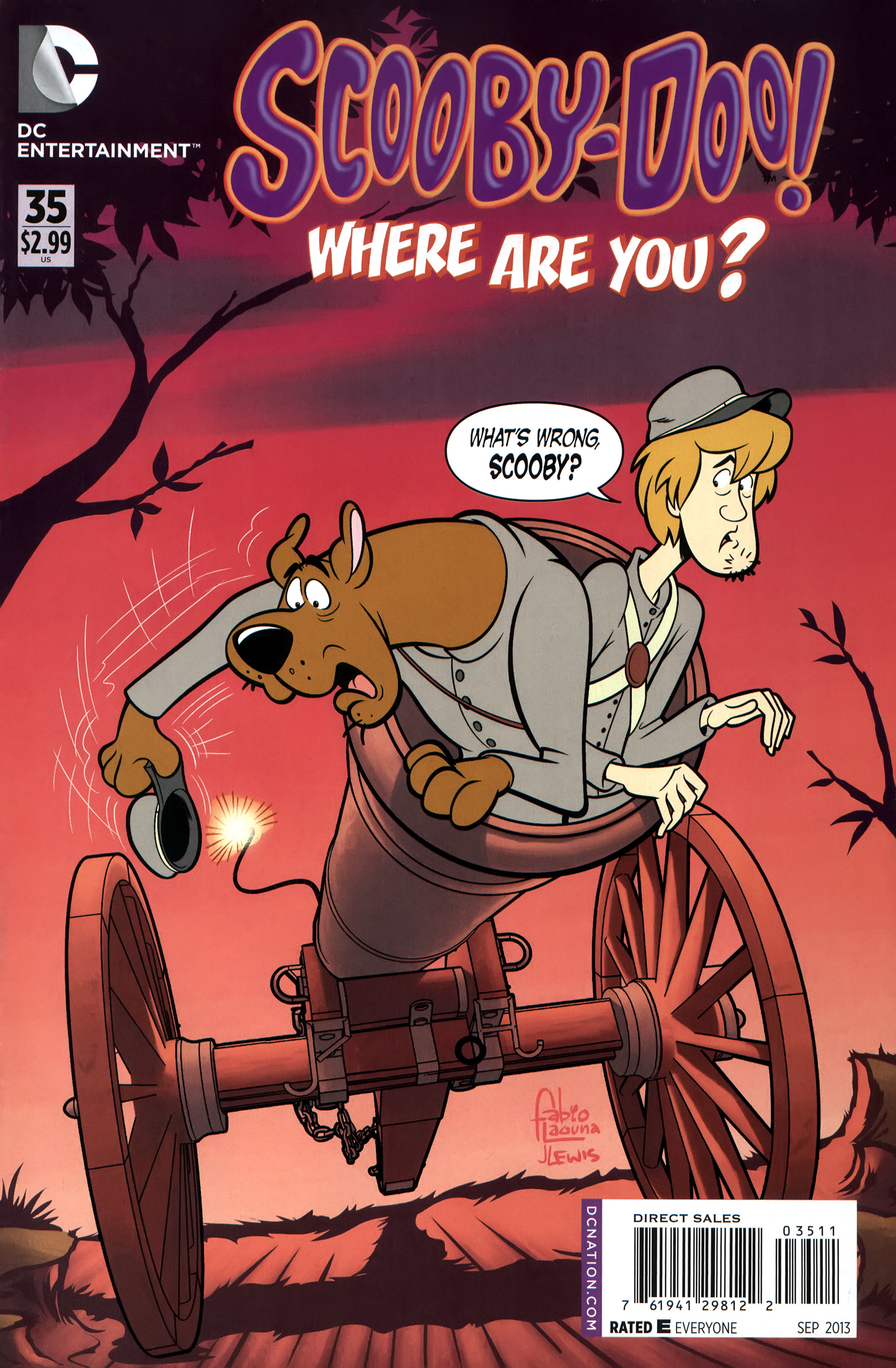 Read online Scooby-Doo: Where Are You? comic -  Issue #35 - 1