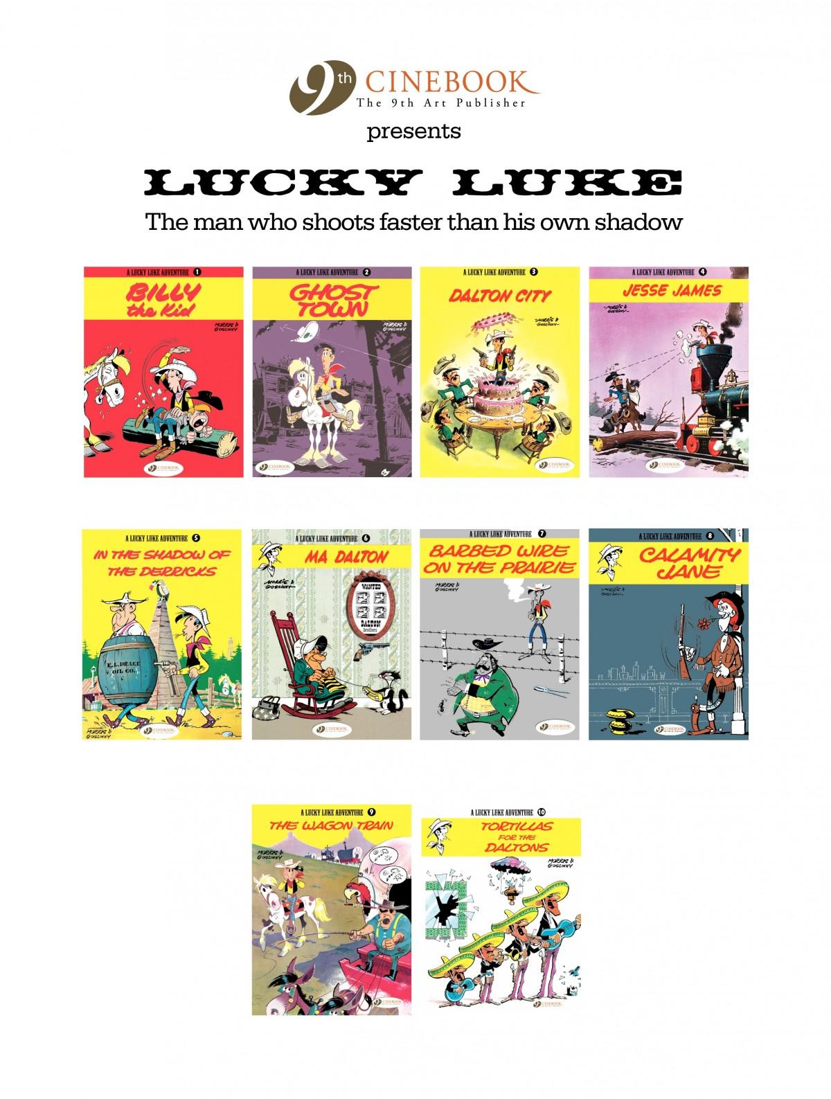 Read online A Lucky Luke Adventure comic -  Issue #4 - 49