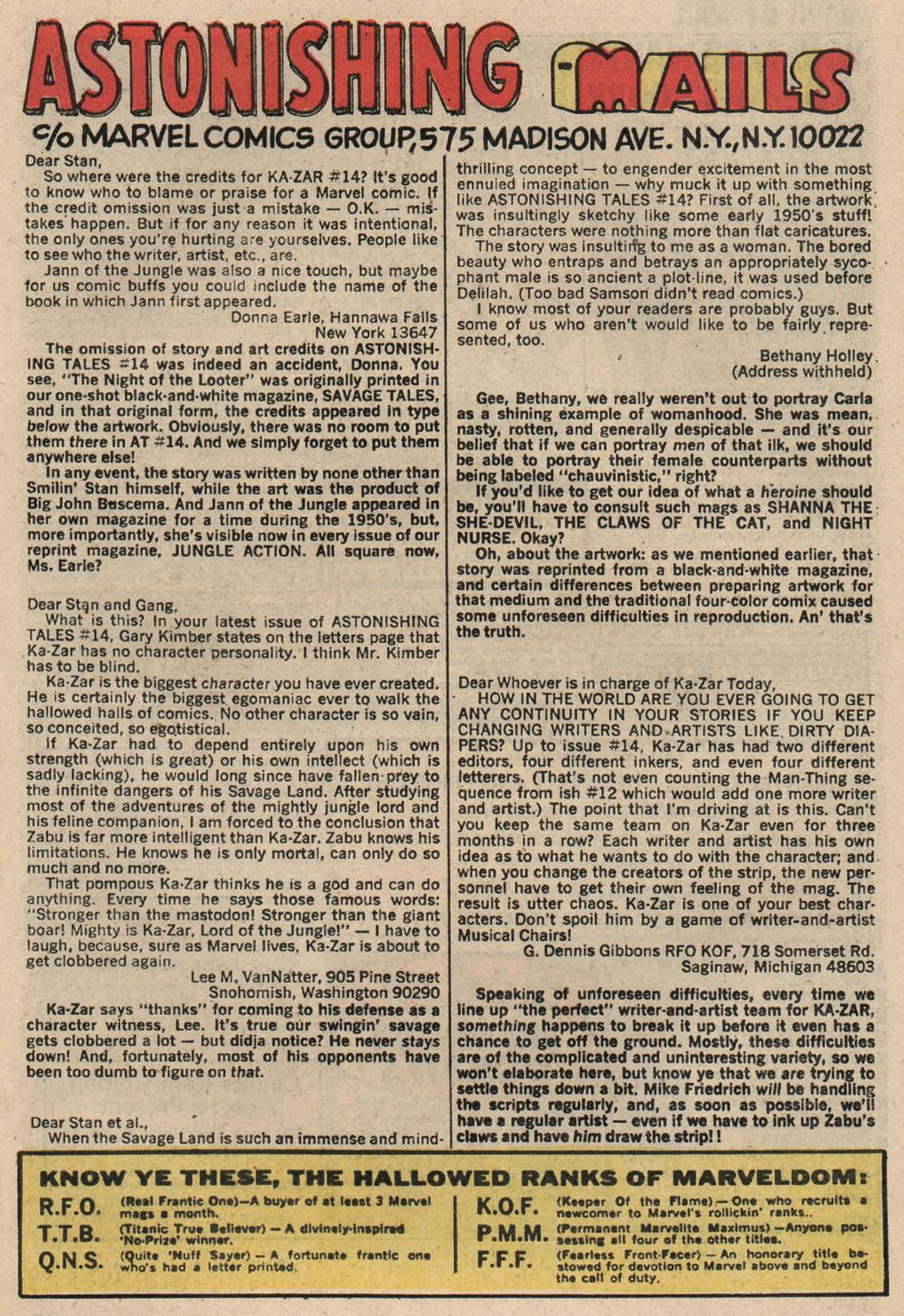 Read online Astonishing Tales (1970) comic -  Issue #16 - 17