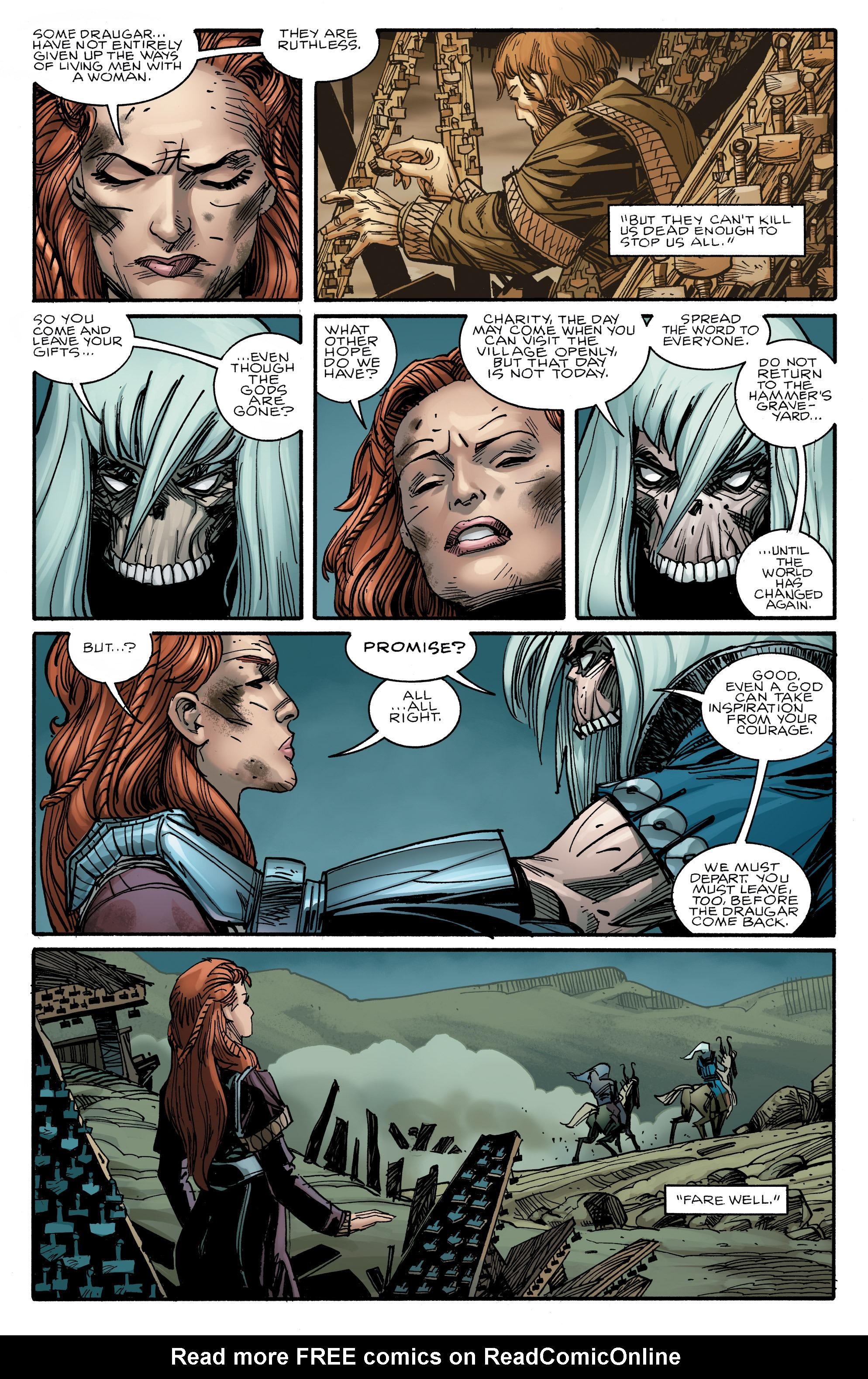 Read online Ragnarok comic -  Issue #10 - 21