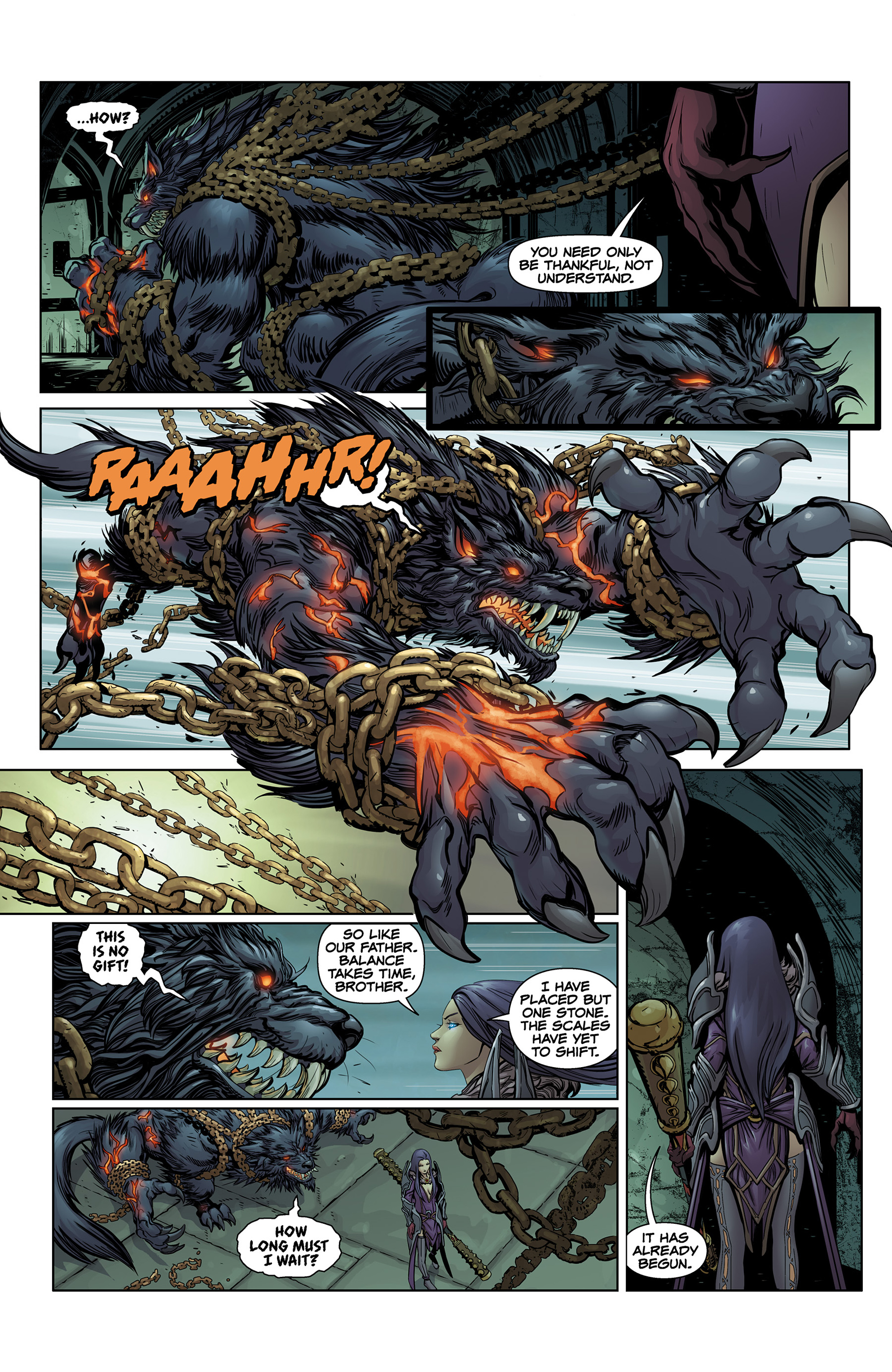 Read online SMITE: The Pantheon War comic -  Issue #1 - 5