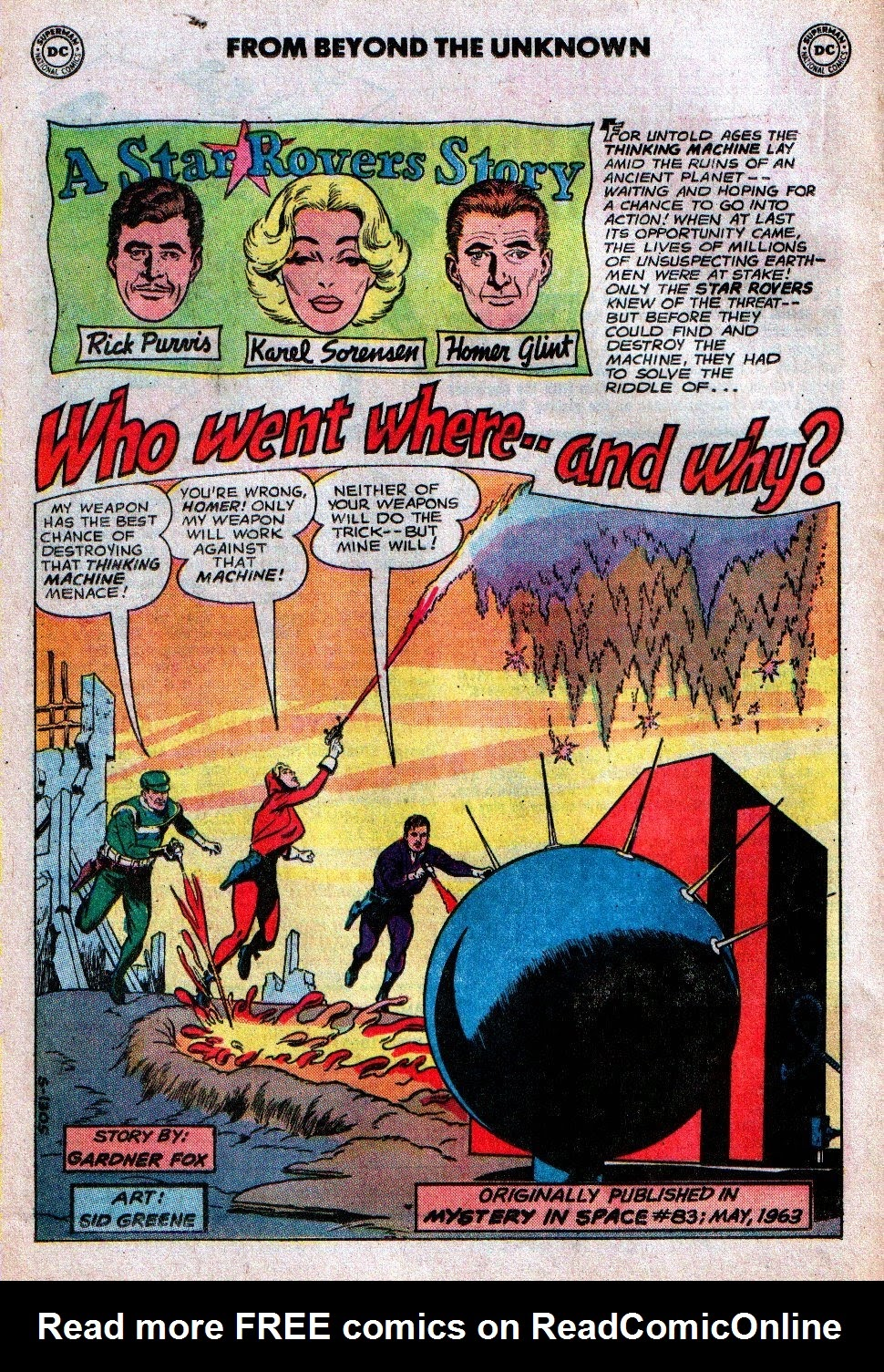 From Beyond the Unknown (1969) issue 19 - Page 20
