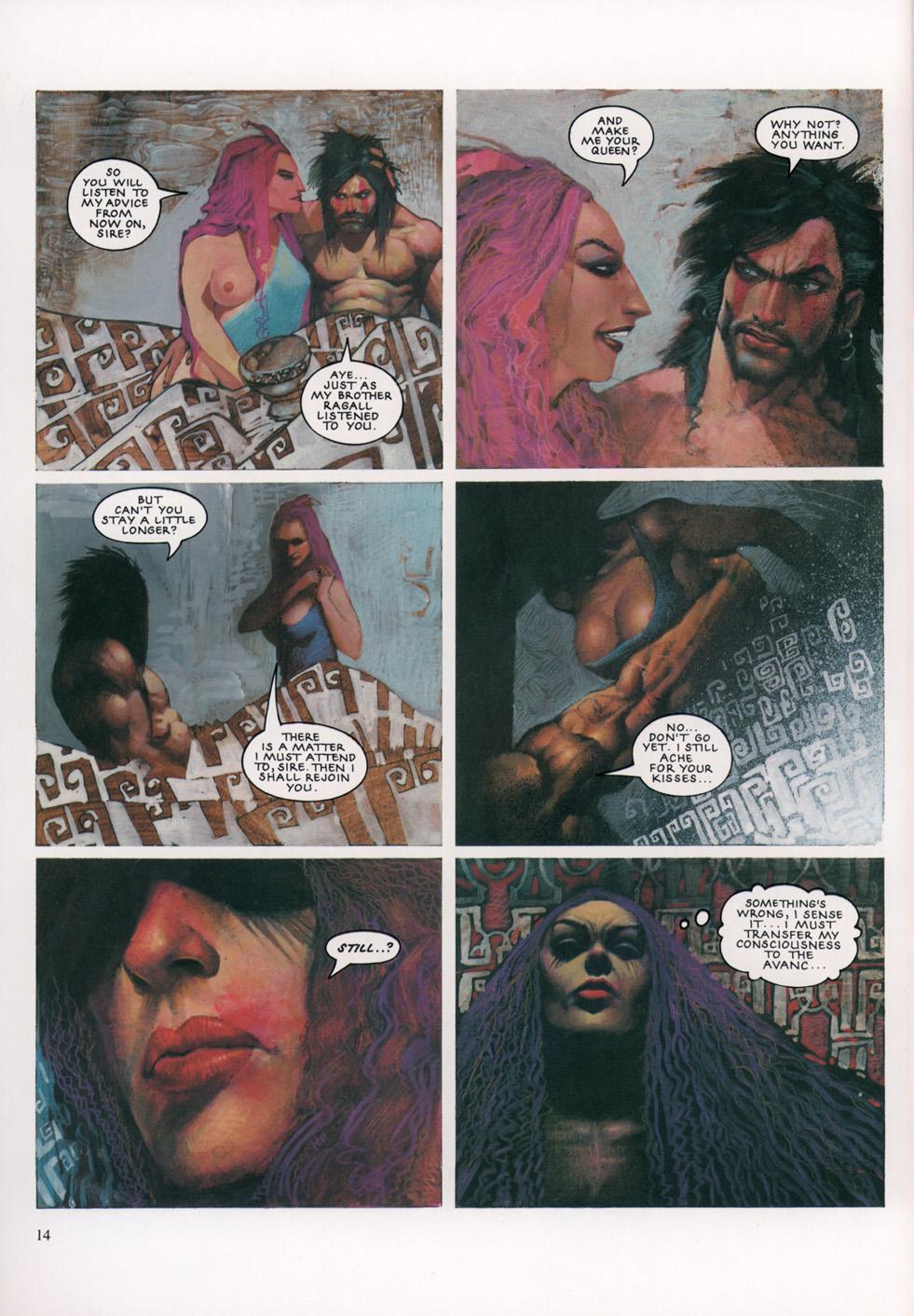 Read online Slaine: The Horned God (1993) comic -  Issue #4 - 15