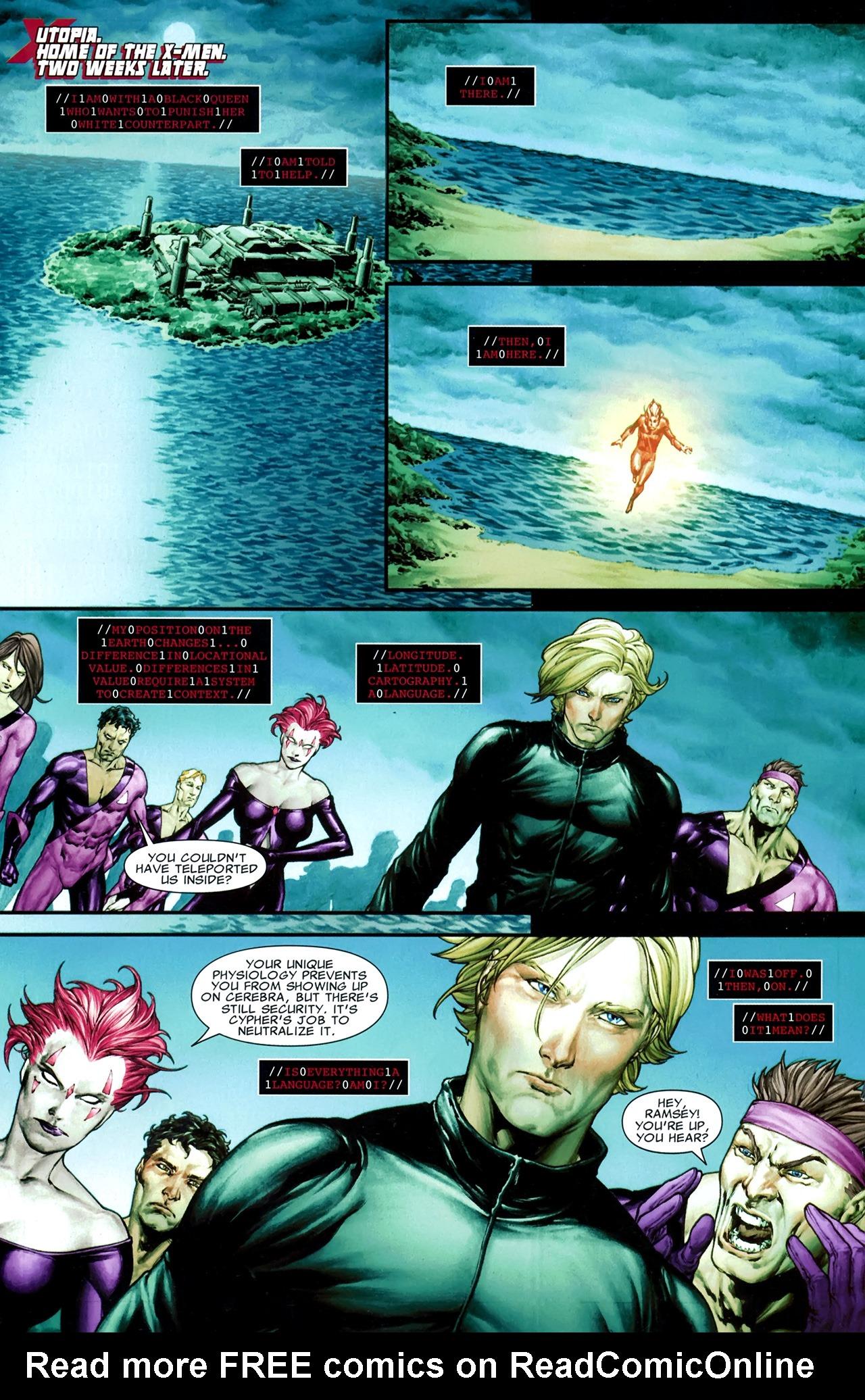 Read online X Necrosha comic -  Issue # Full - 32